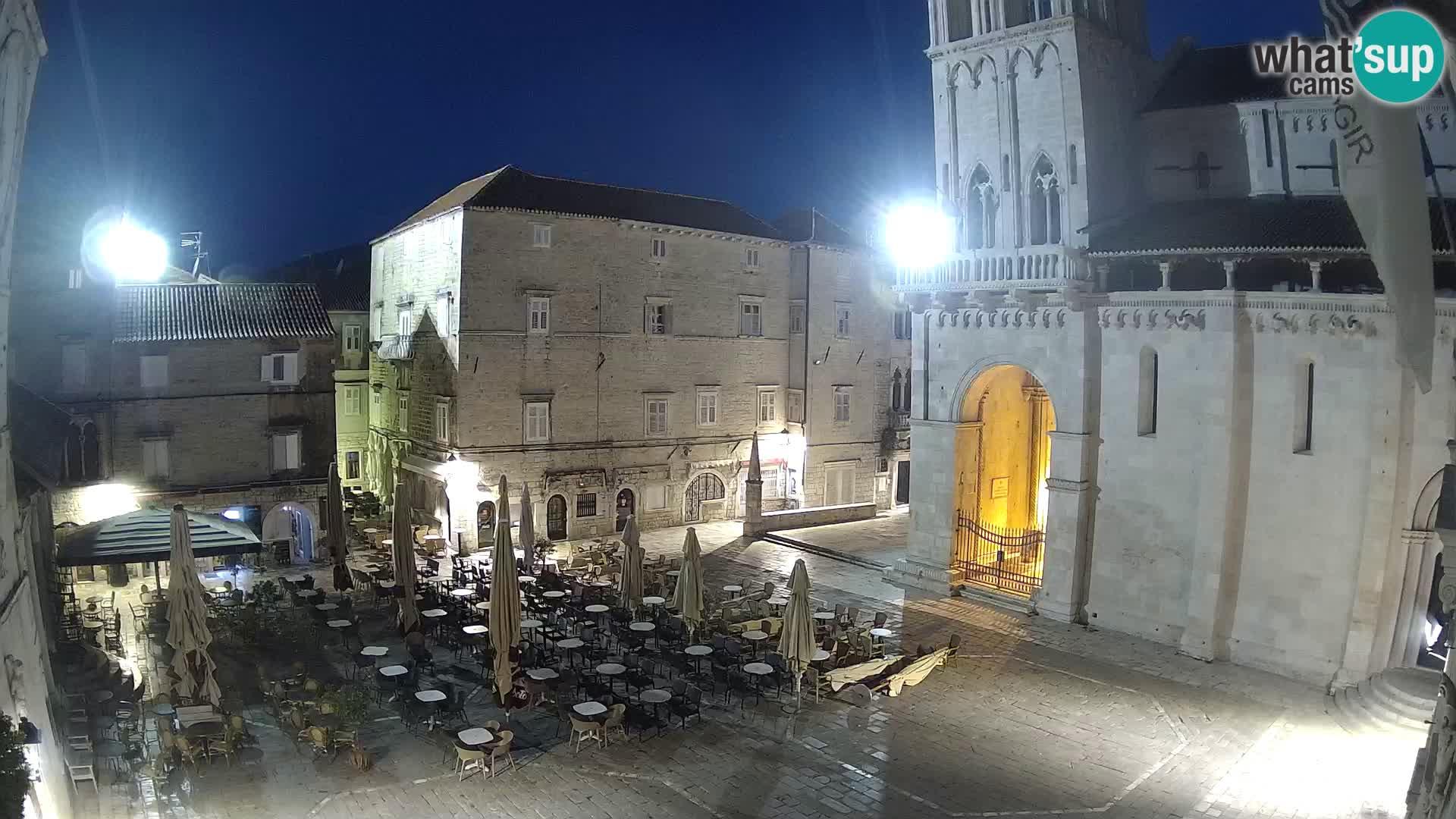 Cámara web en vivo Trogir – Catedral de San Lorenzo – Livecam Croacia
