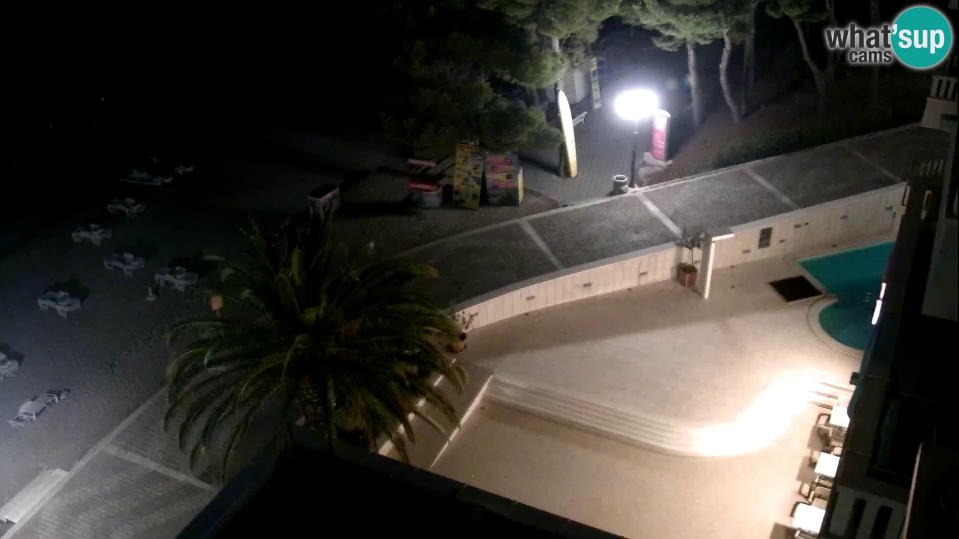 Tučepi web kamera – Hotel Tamaris – Dalmacija
