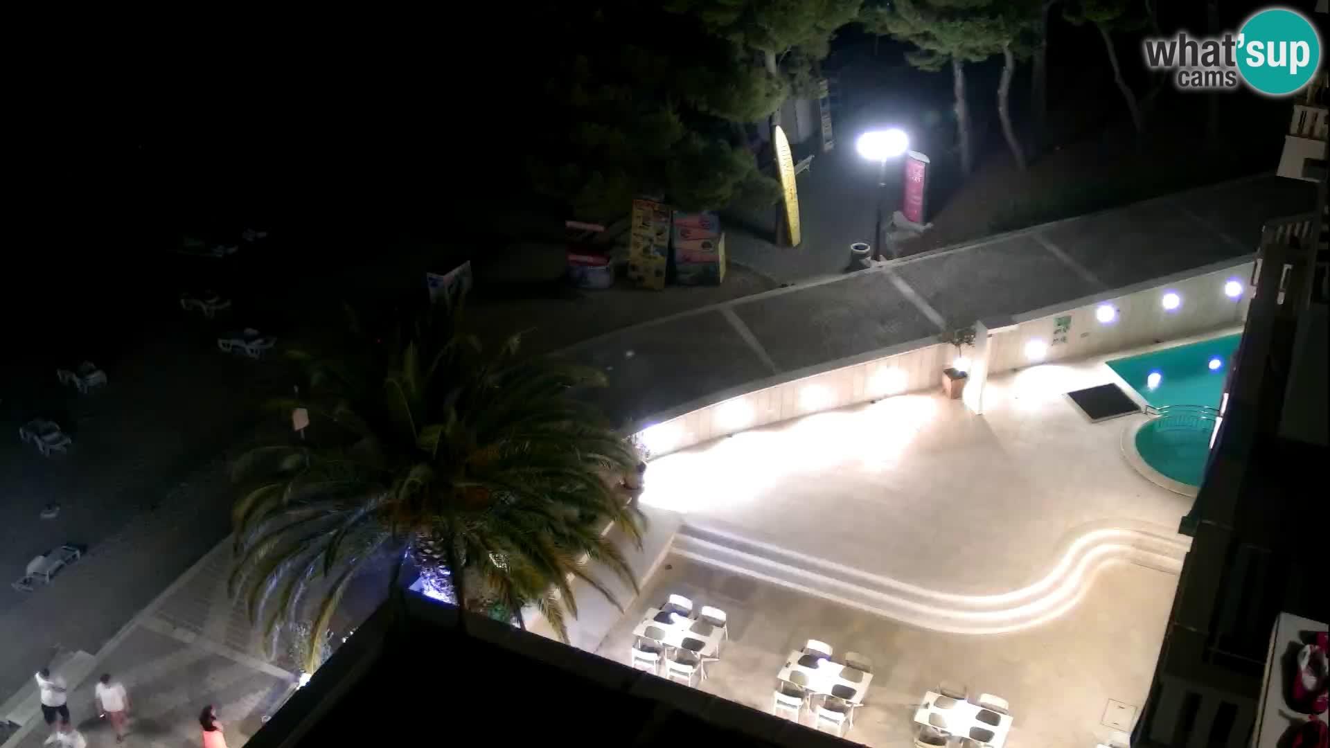 Webcam Tučepi – Dalmatia live Croatia – Hotel Tamaris