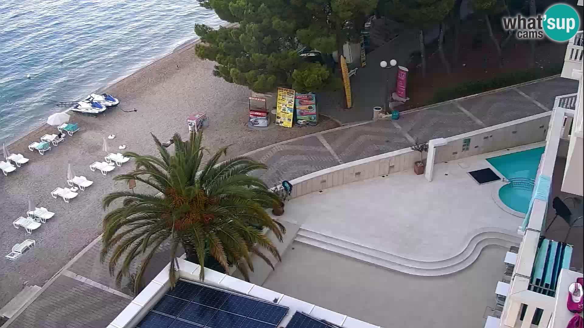 Spletna kamera Tučepi – Dalmacija v živo