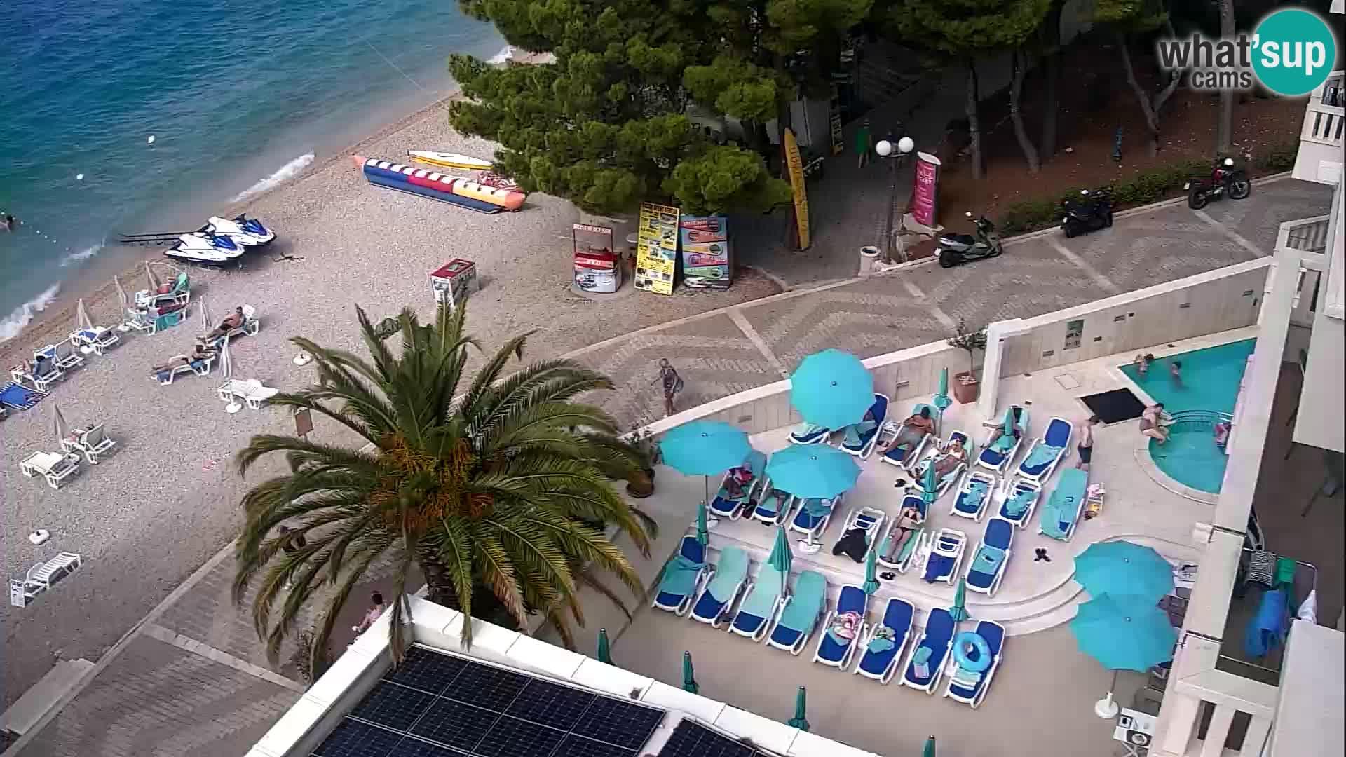 Tučepi Livecam Hotel Tamaris – Croatie webcam