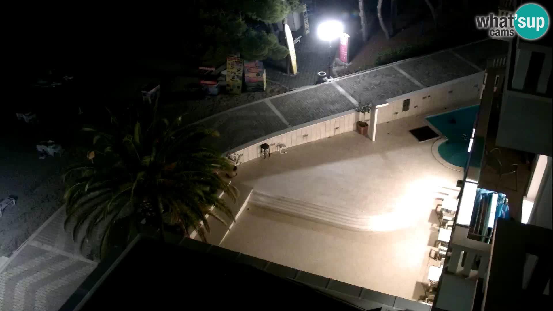 Camera en vivo Tučepi – Hotel Tamaris – Croacia