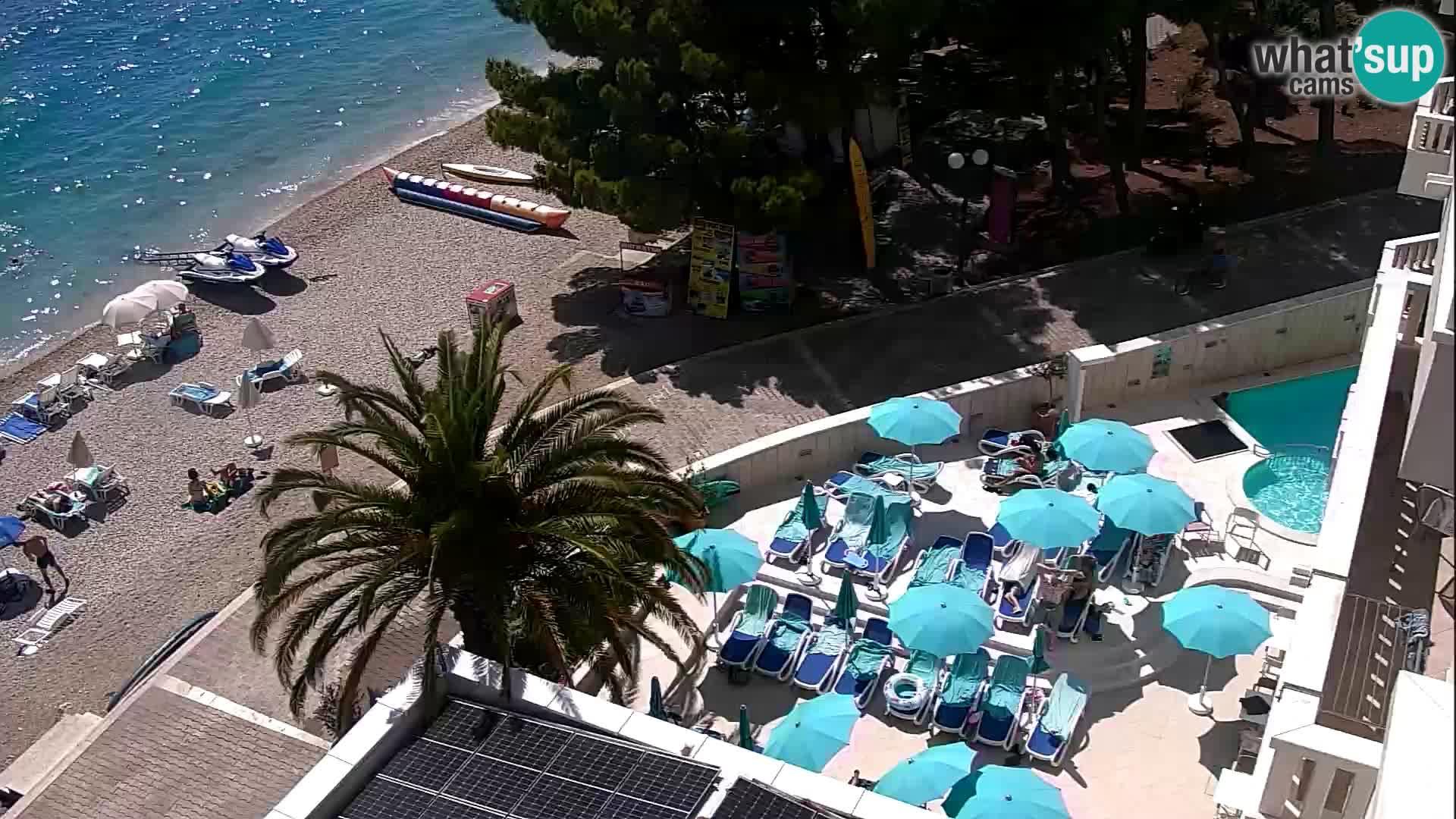 Tučepi webcam Dalmatien – Hotel Tamaris