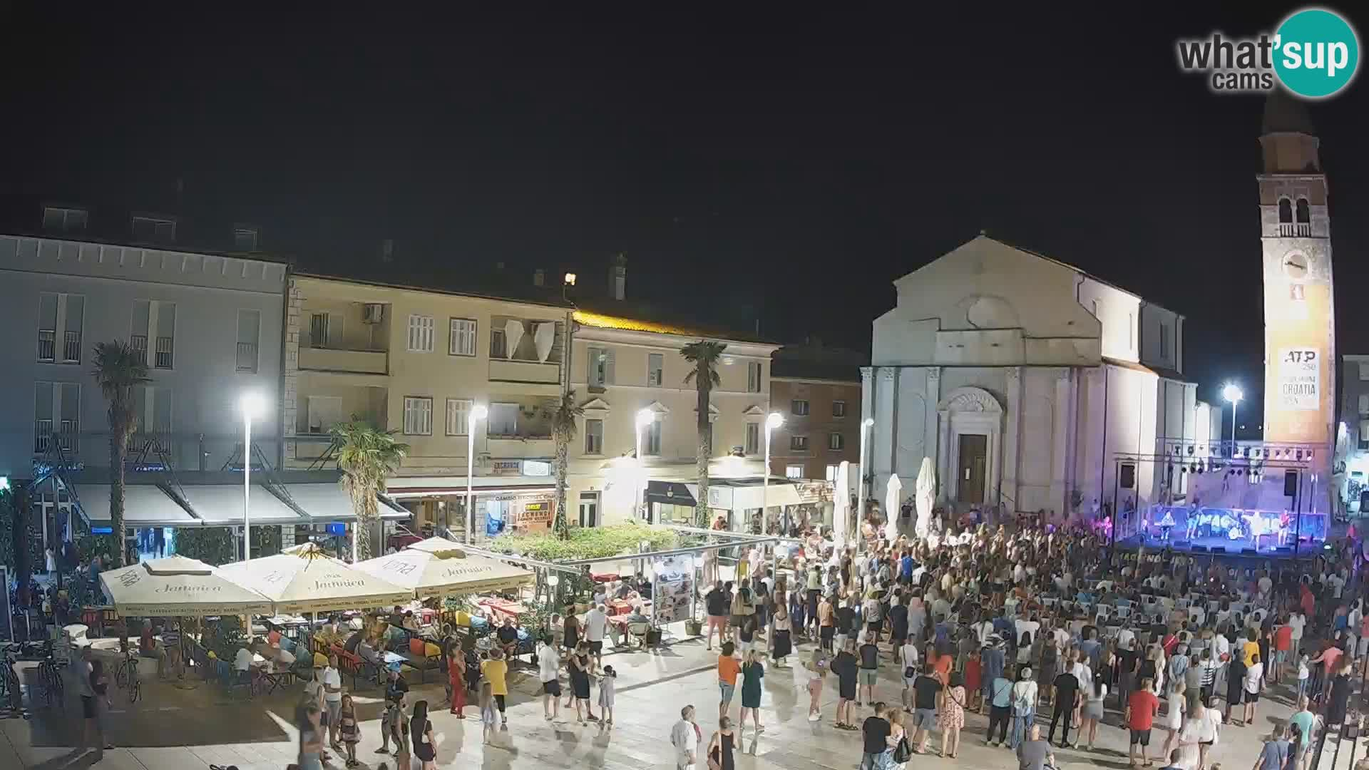 Spletna kamera na Osrednjem trgu v Umagu