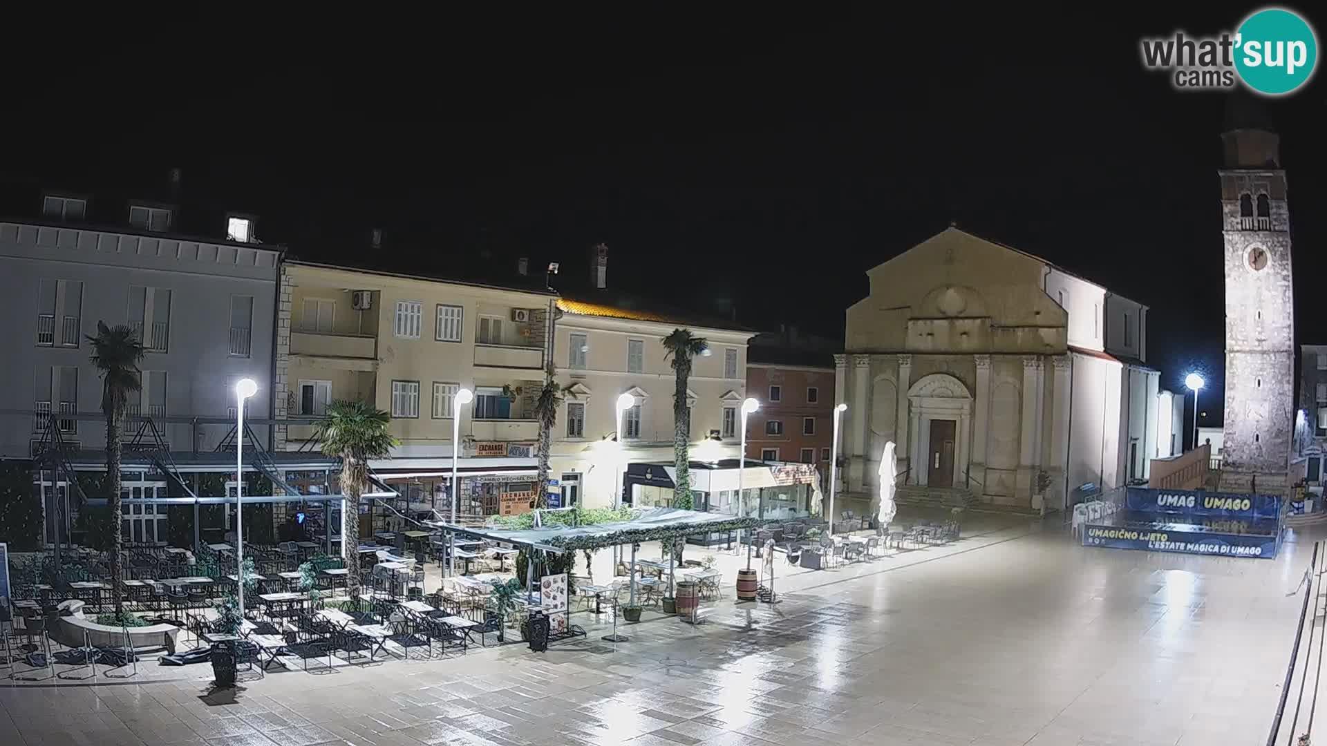 Web kamera – Glavni trg u Umagu