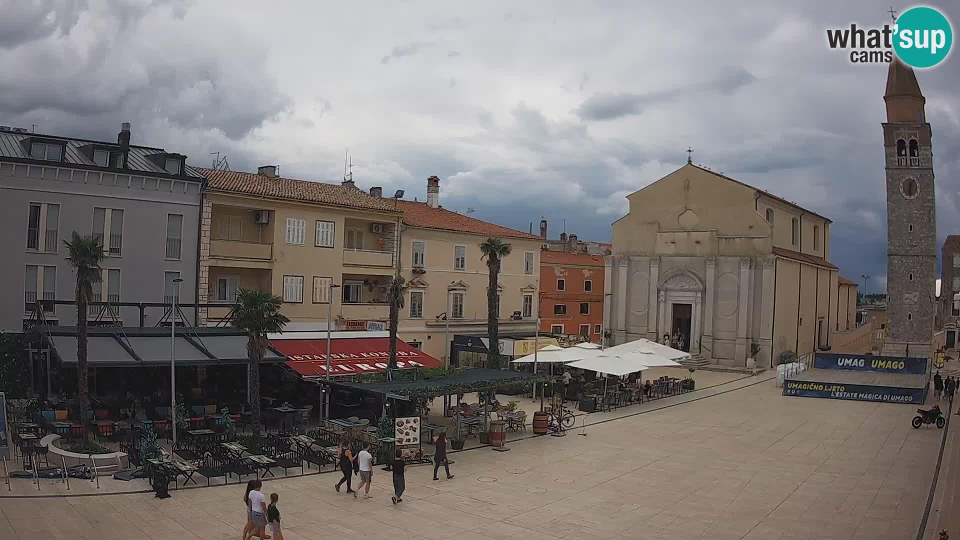 Webcam Umag Town center