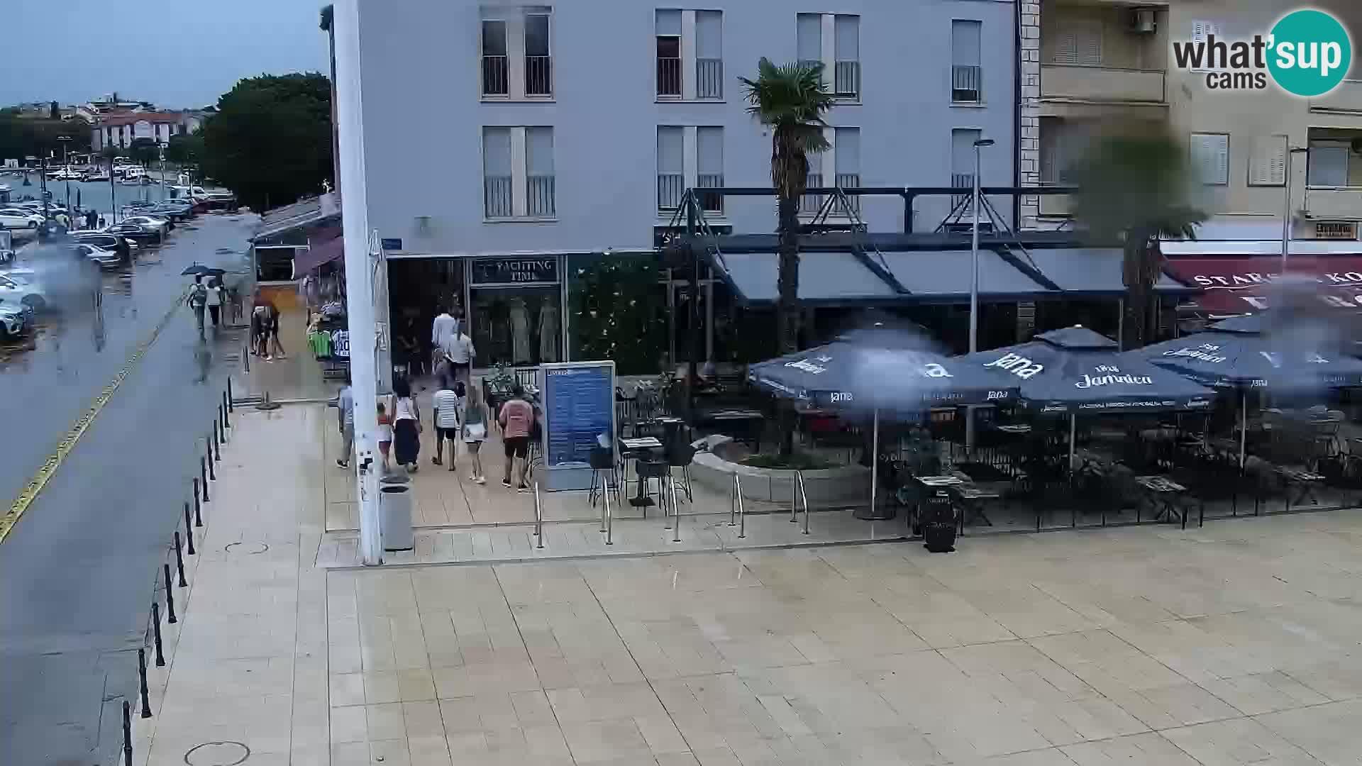 Trg Svobode – Kamera v živo Umag