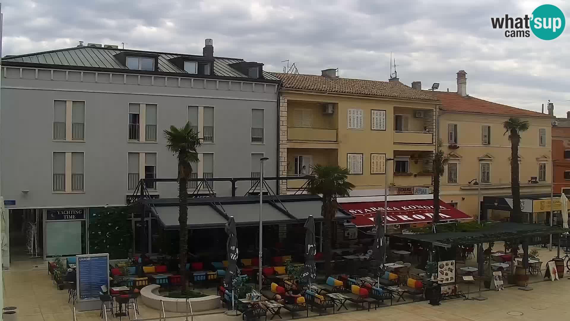 LIVE Webcam Umag – Main Square