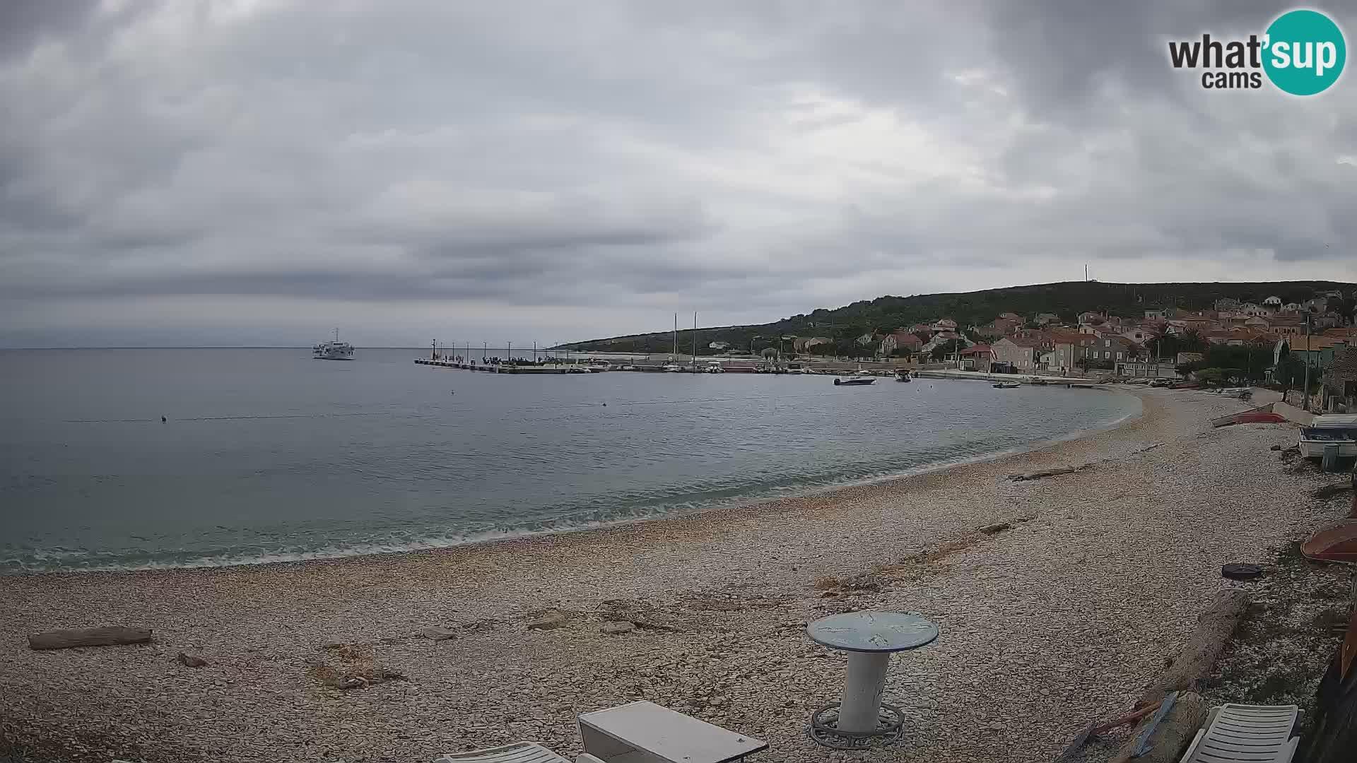 La Spiaggia di Unie webcam