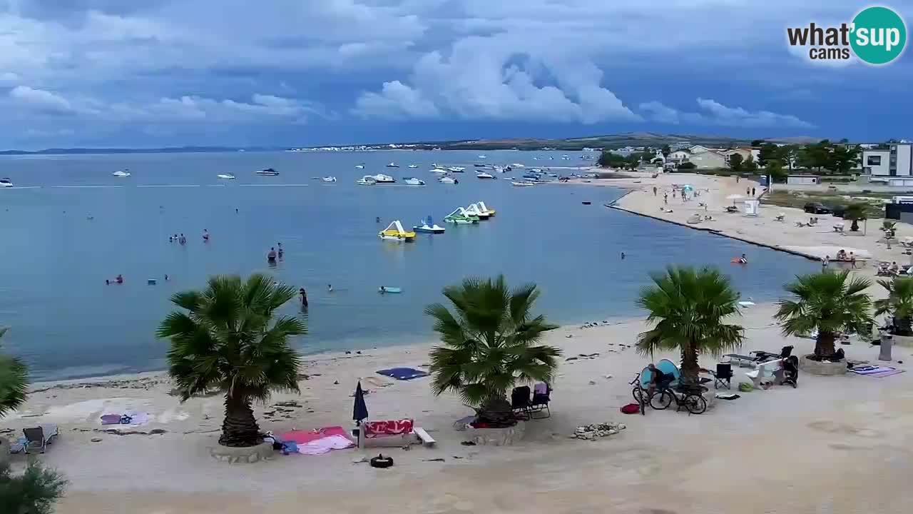 Web kamera Vir – Plaža