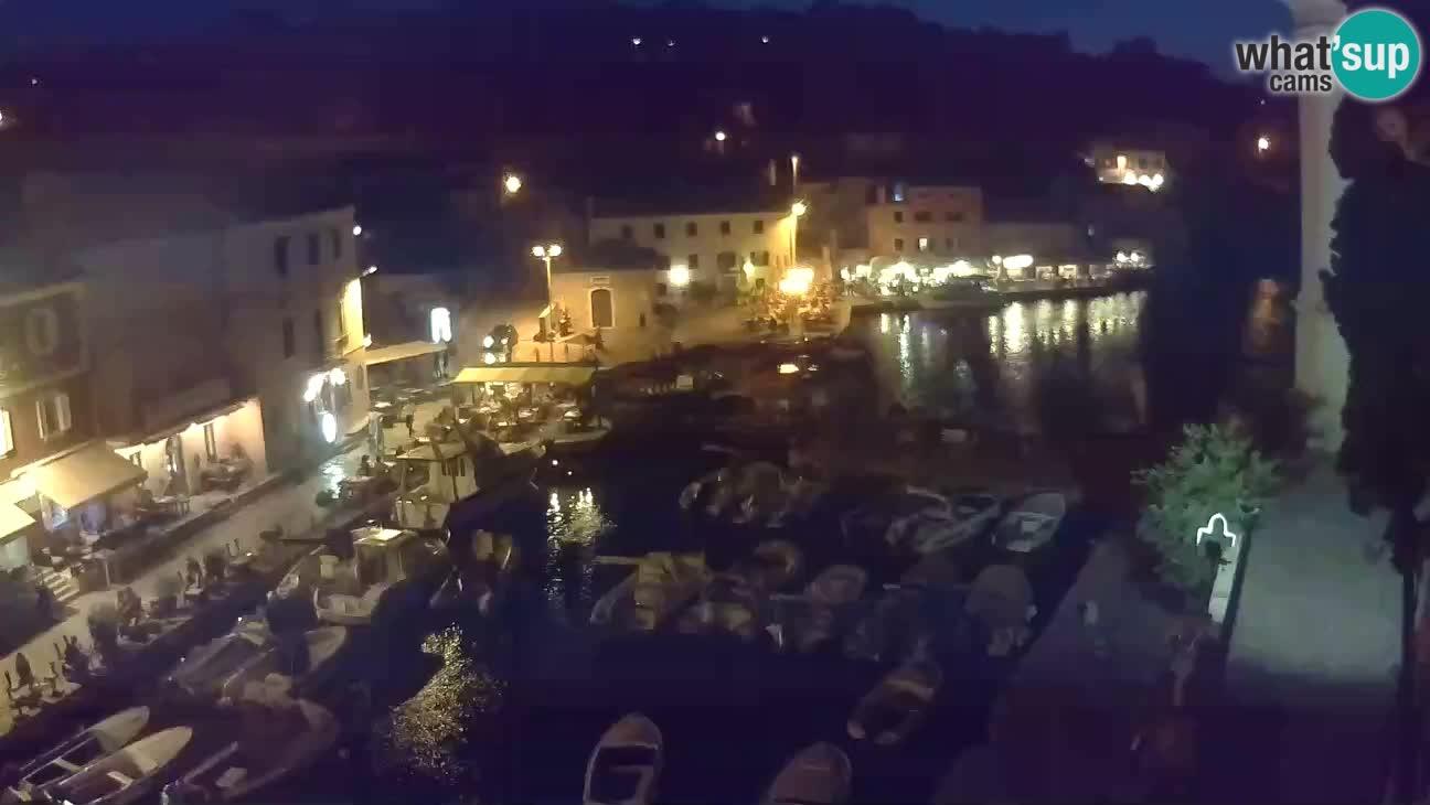Webcam – Den Hafen und die Bucht von Veli Lošinj