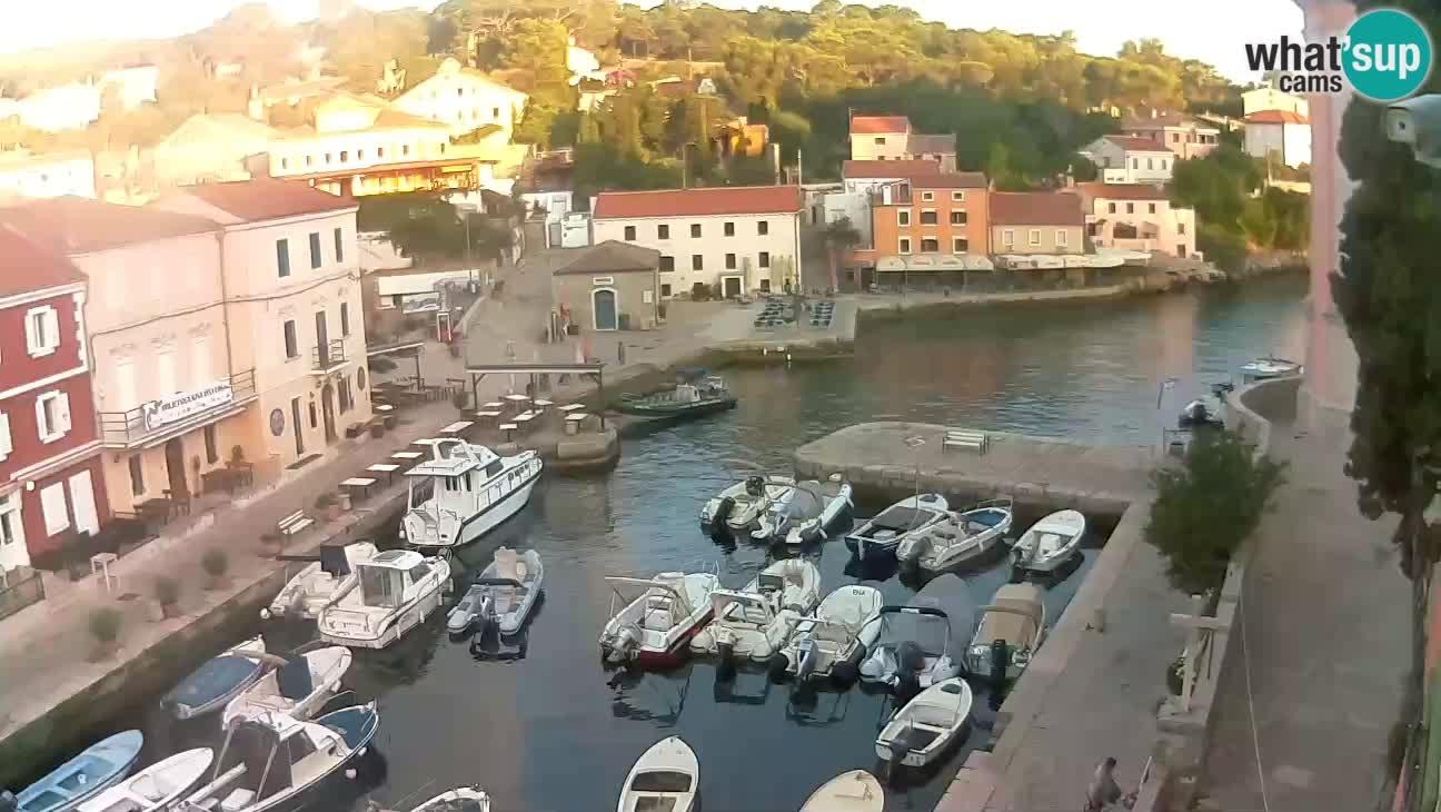Webcam – Le port et la baie de Veli Lošinj