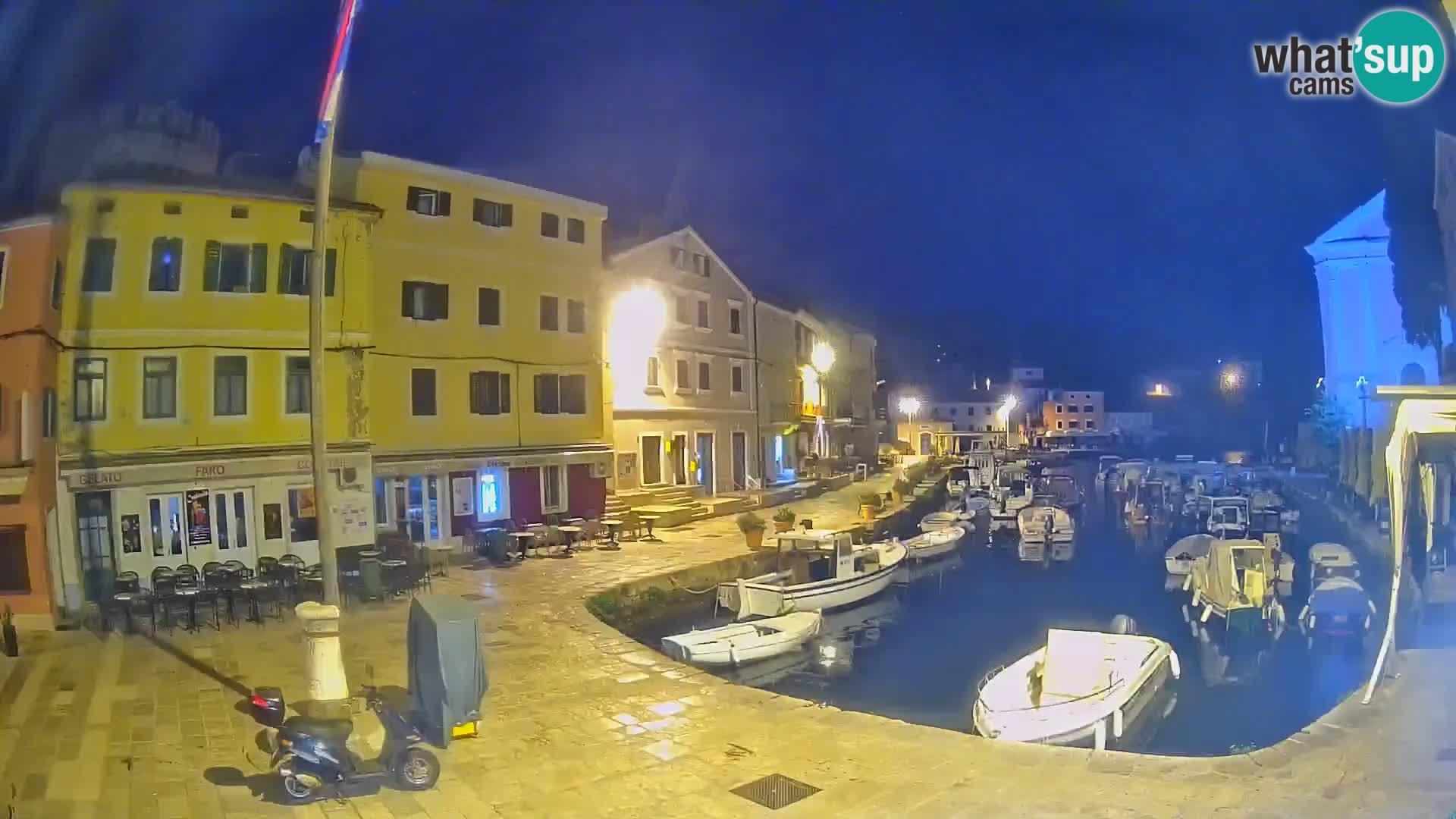 Webcam Live – The harbor of Veli Lošinj