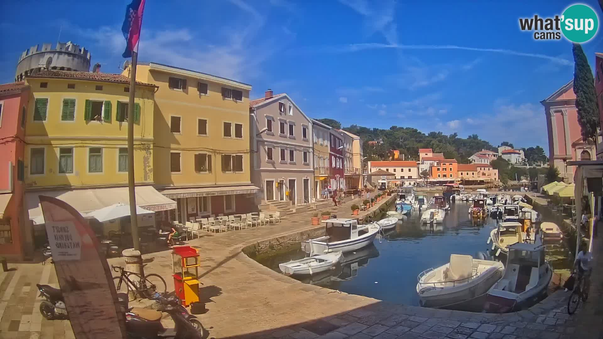 Webcam Streaming – El puerto de Veli Lošinj