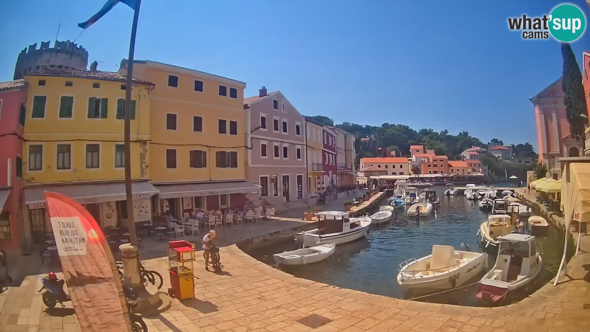 Webcam – Le port de Veli Lošinj