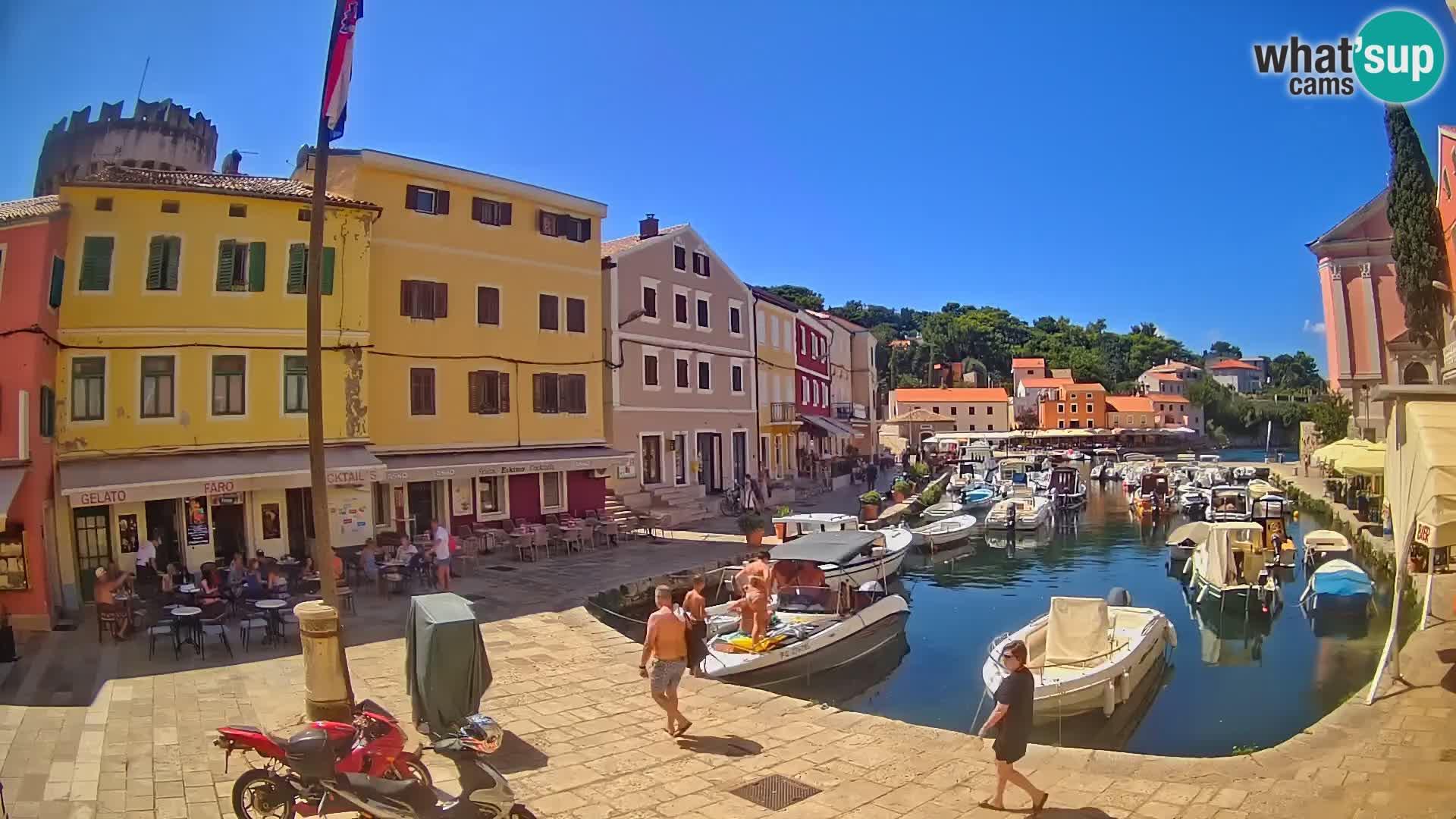 Webcam – Il porticciolo di Lussingrande