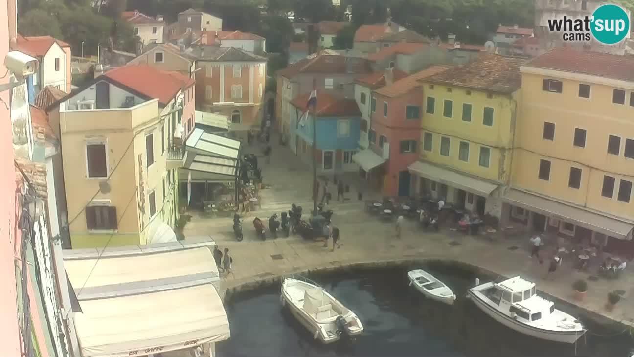 Veli Lošinj camera en vivo – plaza