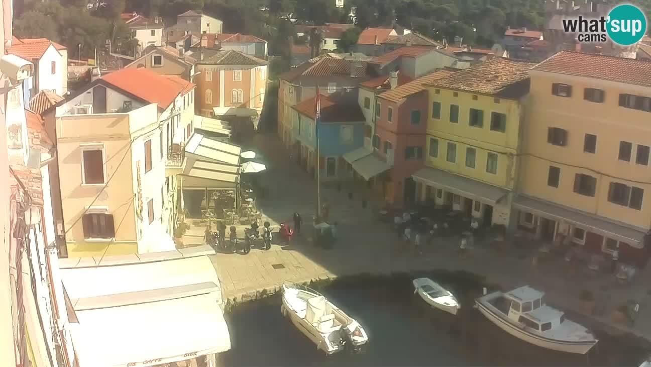Lussingrande webcam – Piazzetta