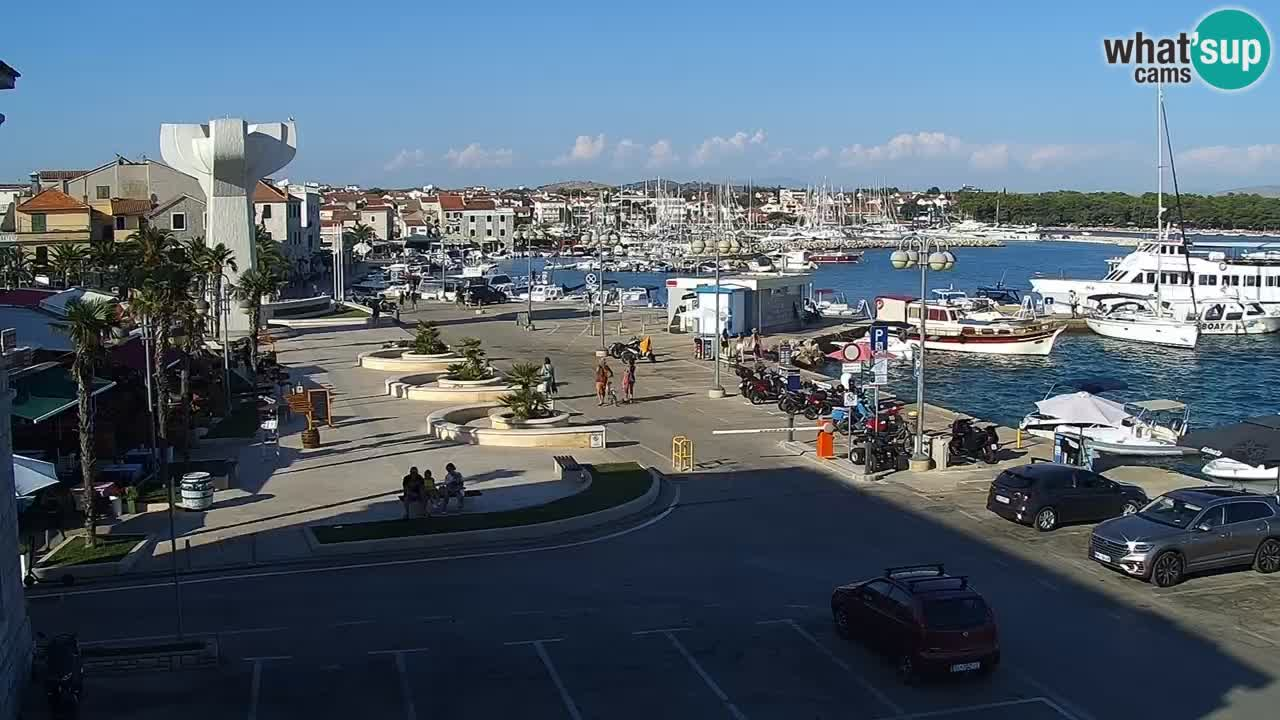 Vodice camera en vivo – marina paseo marítimo