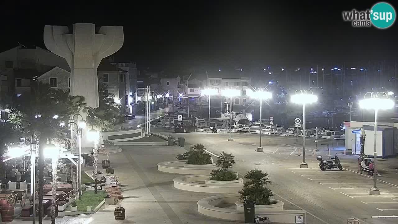 Vodice webcam – marina i meer