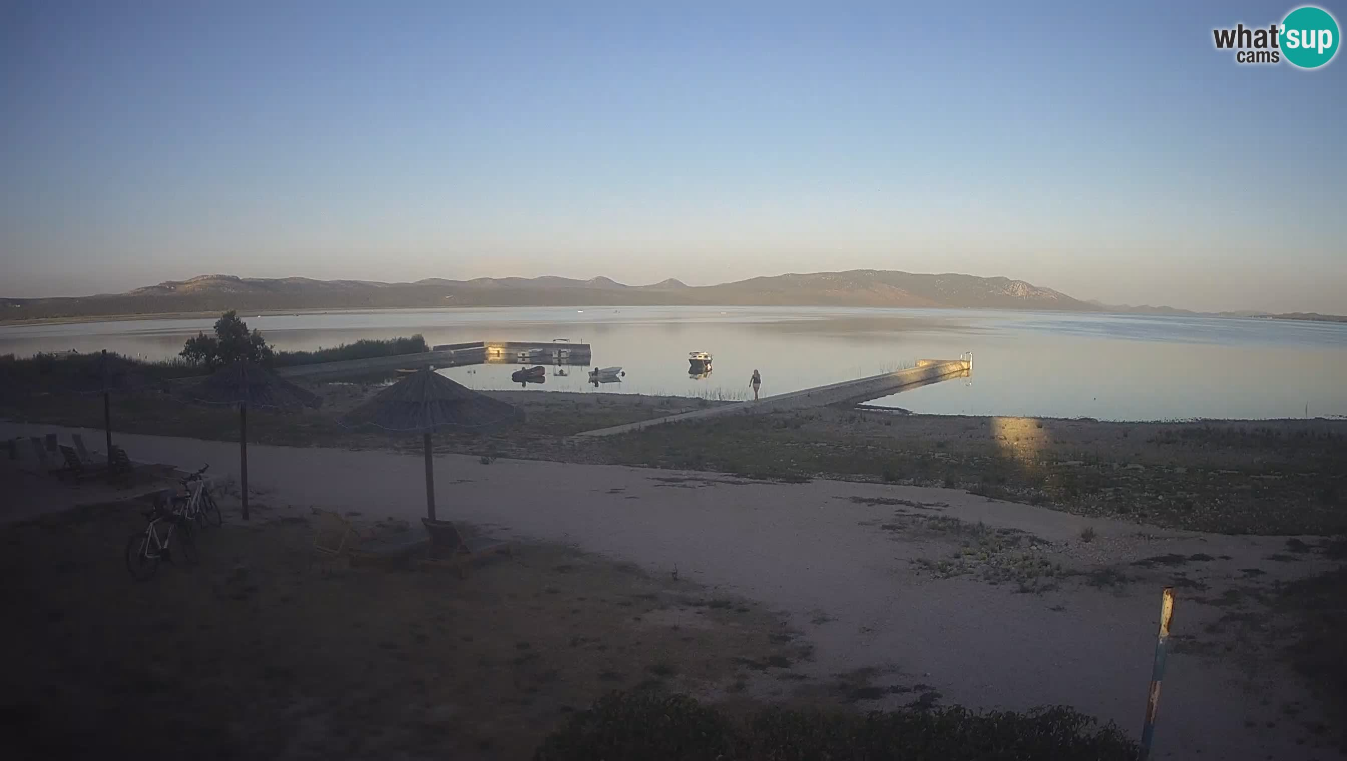 Lake Vransko jezero webcam