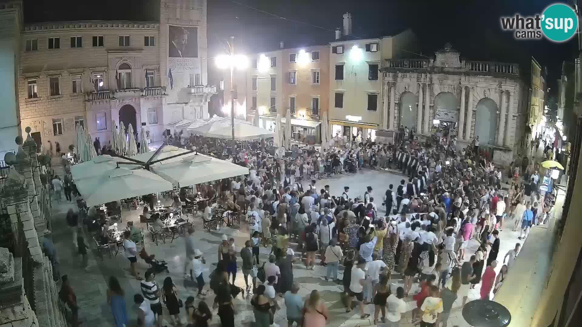"""Zadar – Narodni trg – """"Piazza del Popolo"""""""