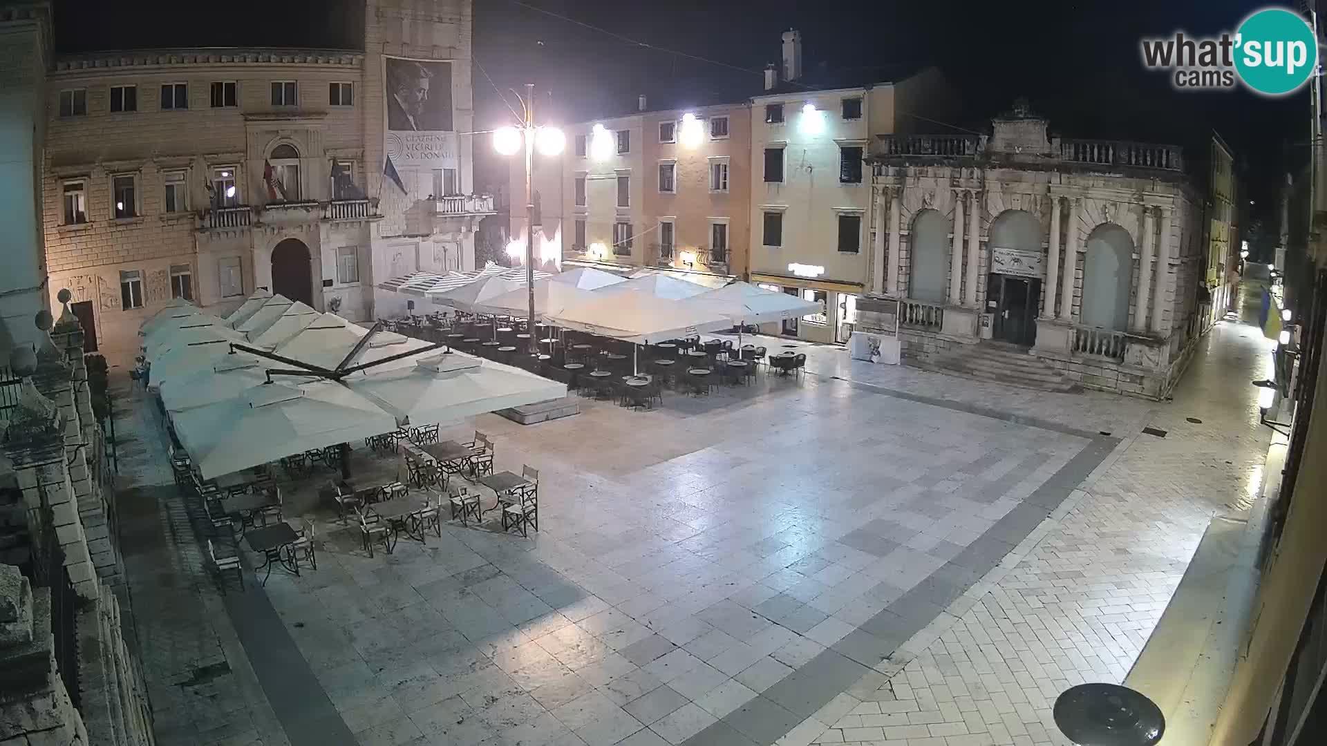 """Zadar – Narodni trg """"People's square"""""""