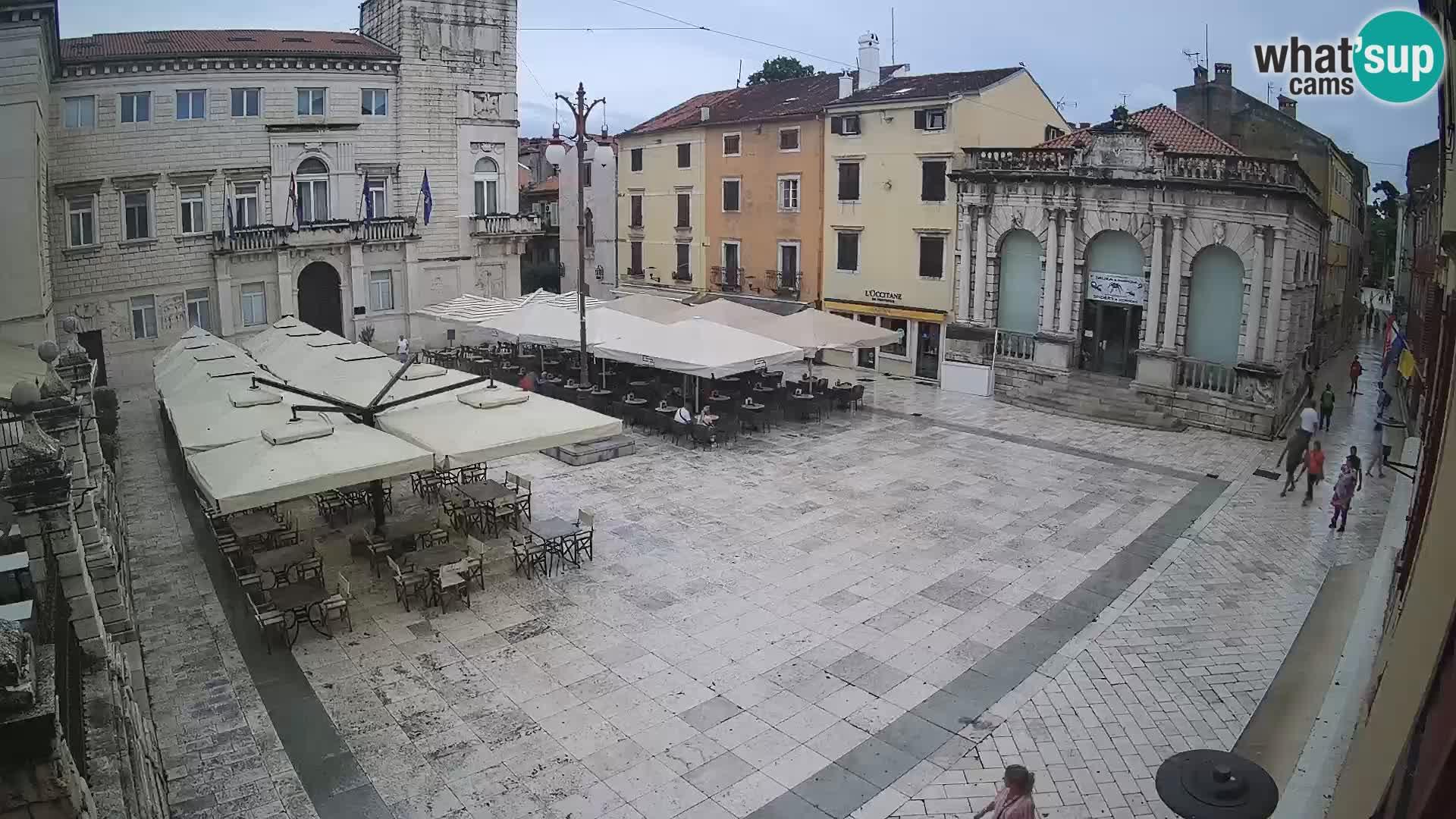 """Zadar – Narodni trg – """"Place du Peuple"""""""