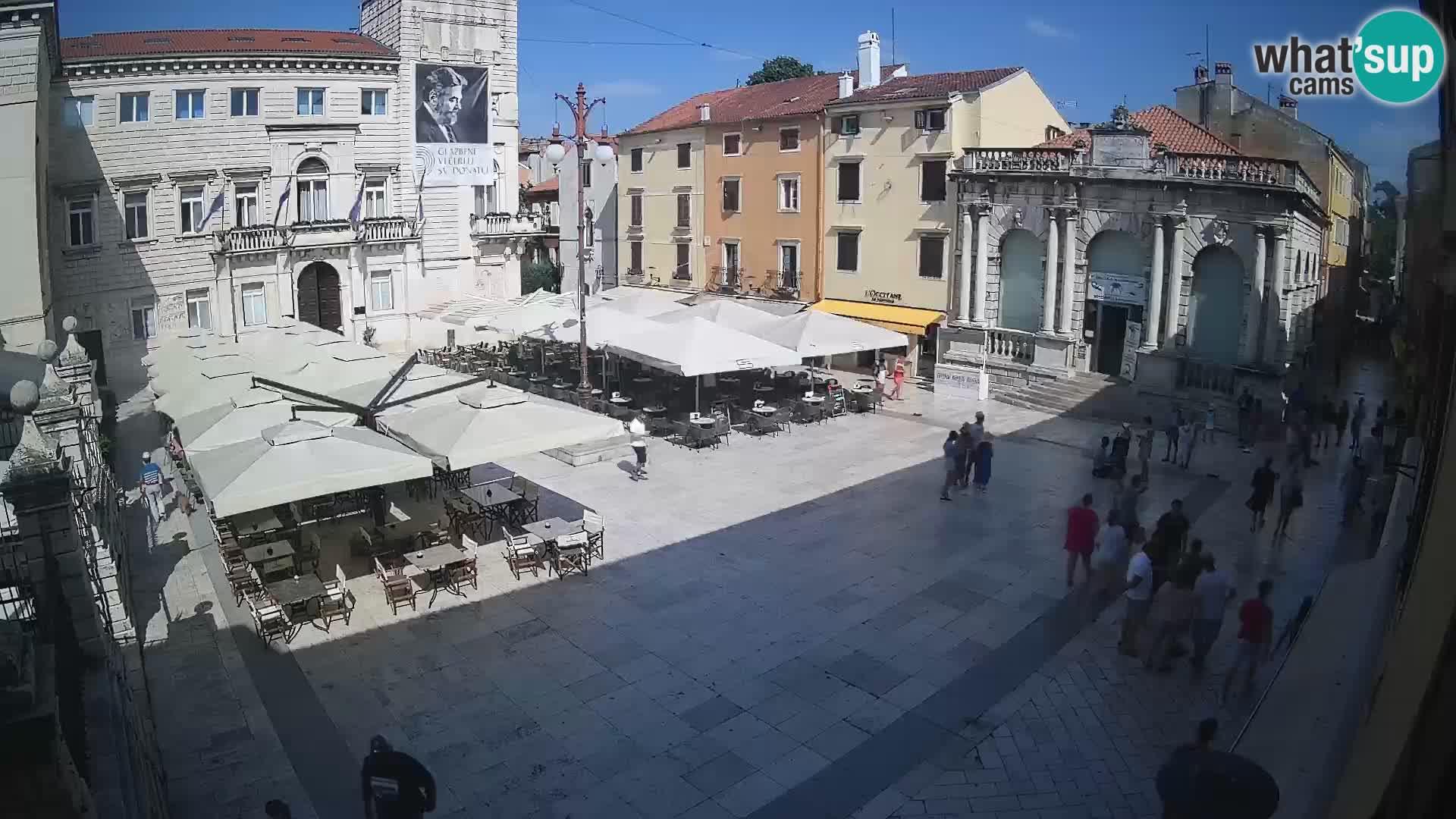 "Zadar – Narodni trg –  ""Plaza del Pueblo"""