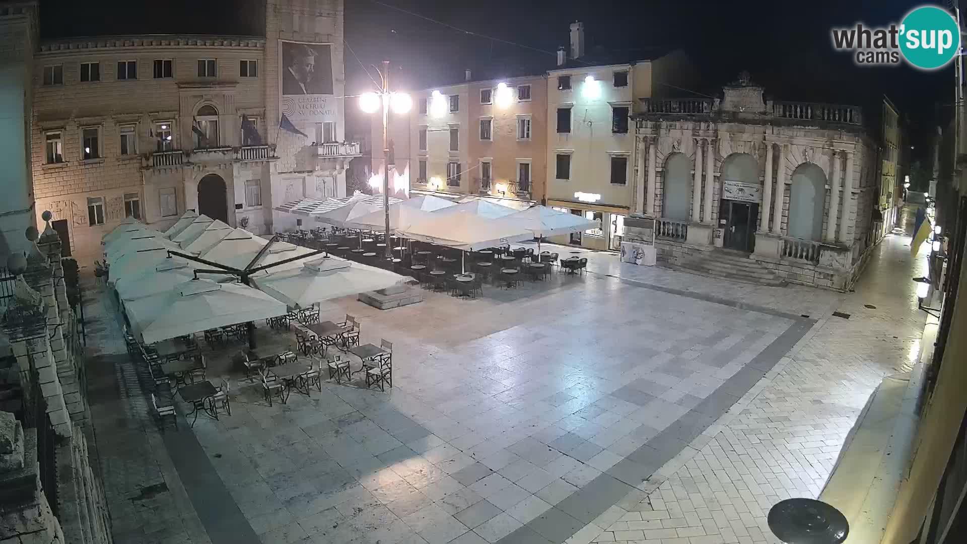"Zadar – Narodni trg – ""Platz des Volkes"""