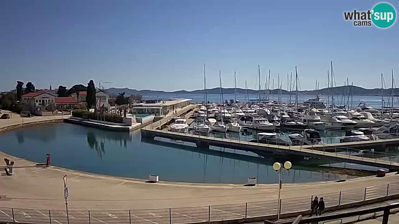 Marina Borik spletna kamera Zadar