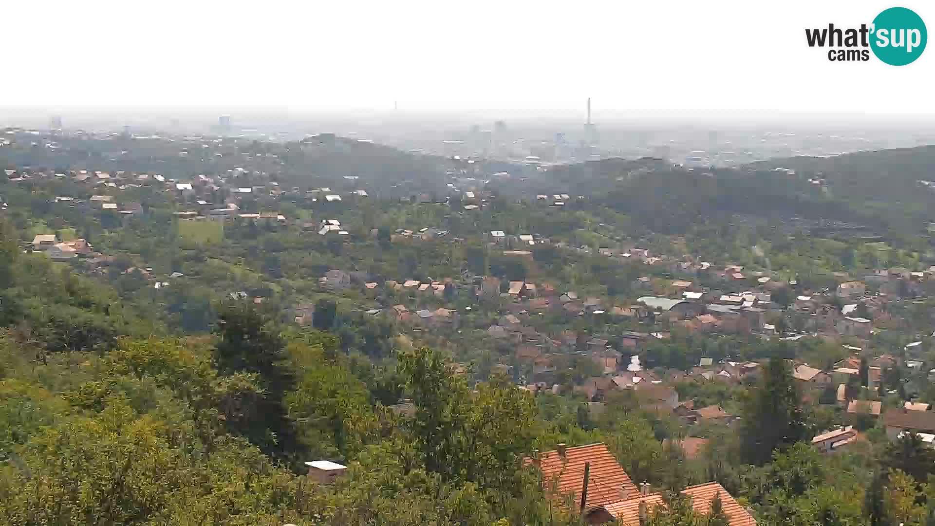 Vue panoramique de Zagreb