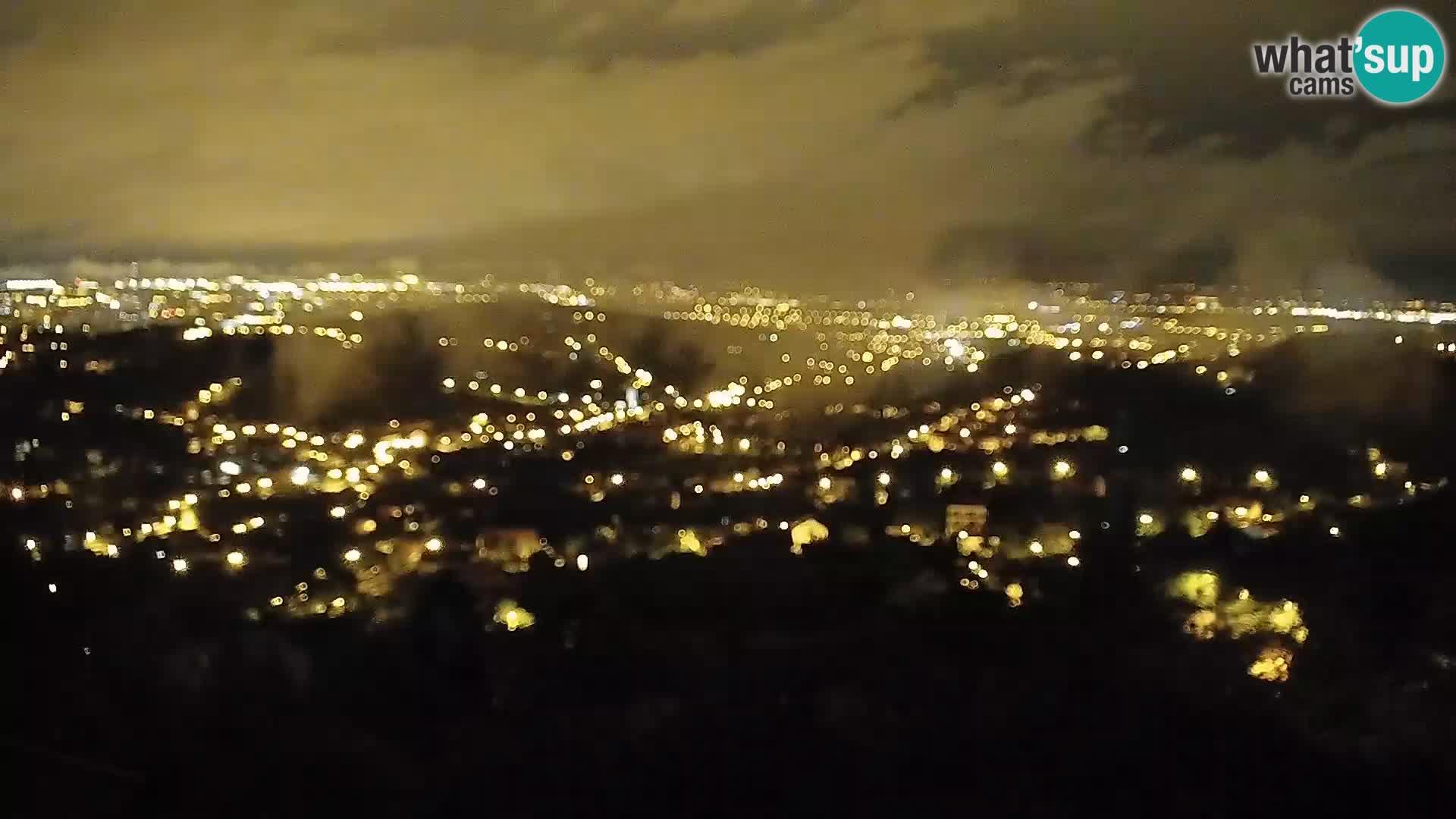 Panoramski pogled na Zagreb