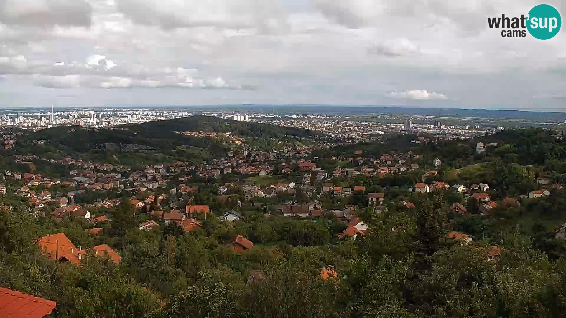 Panoramic view of Zagreb