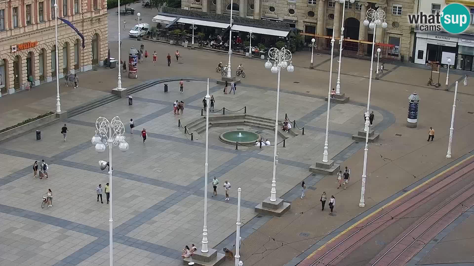 Zagreb Carre Cvjetni Trg Whatsupcams Live Webcams