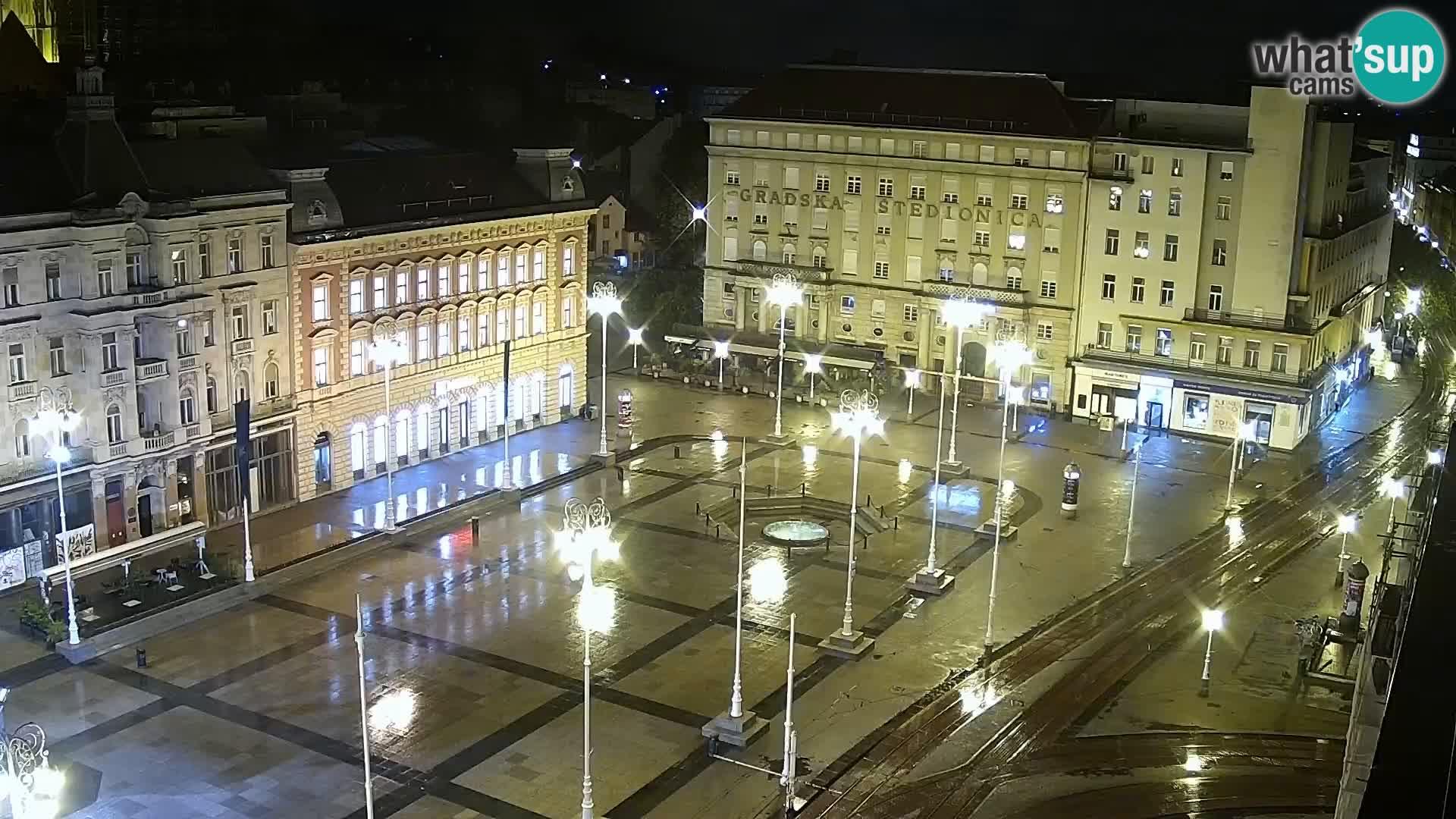 Webcam Zagreb – Ban Jelačić square