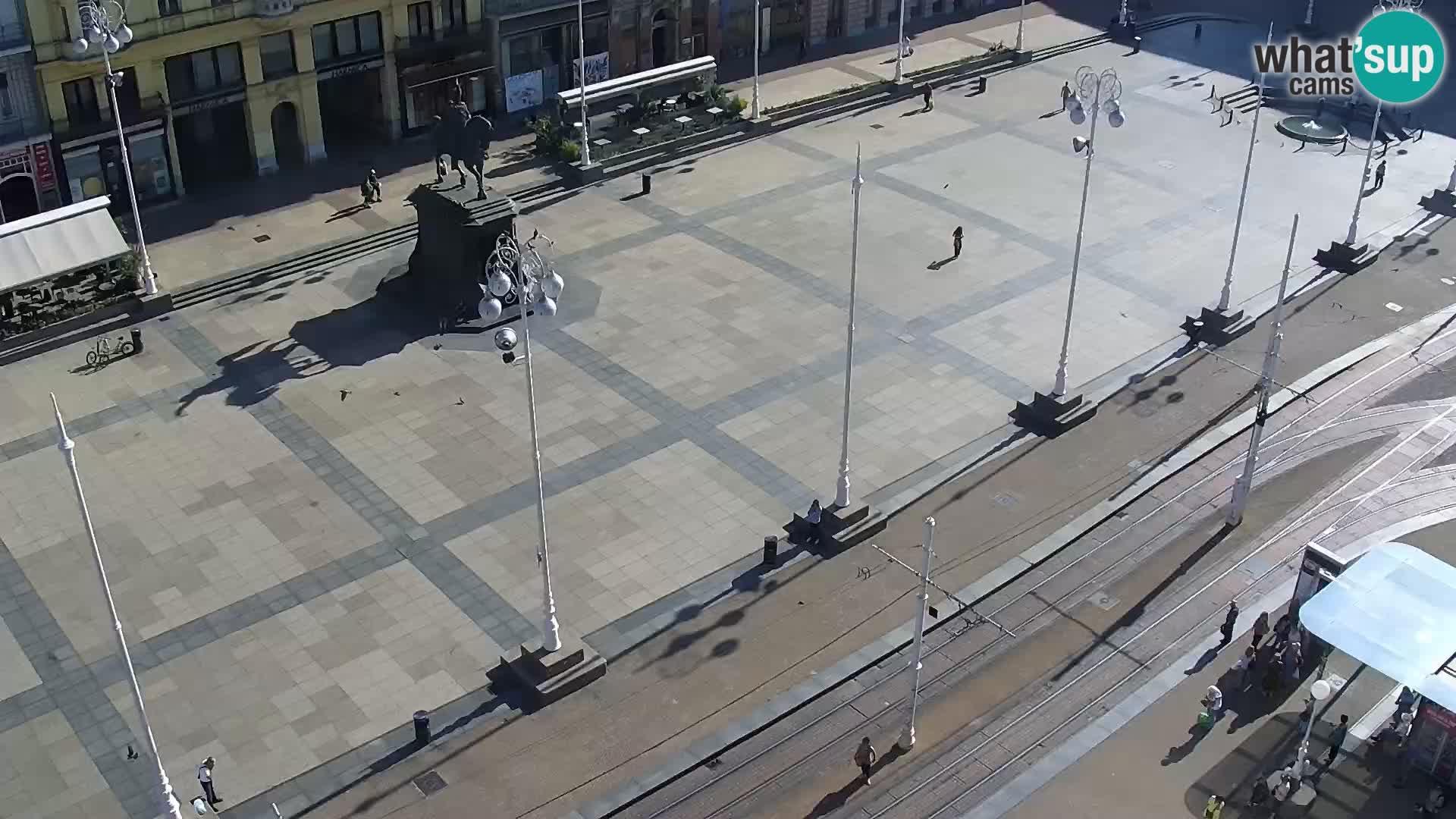 Web kamera Zagreb – Trg Bana Jelačića