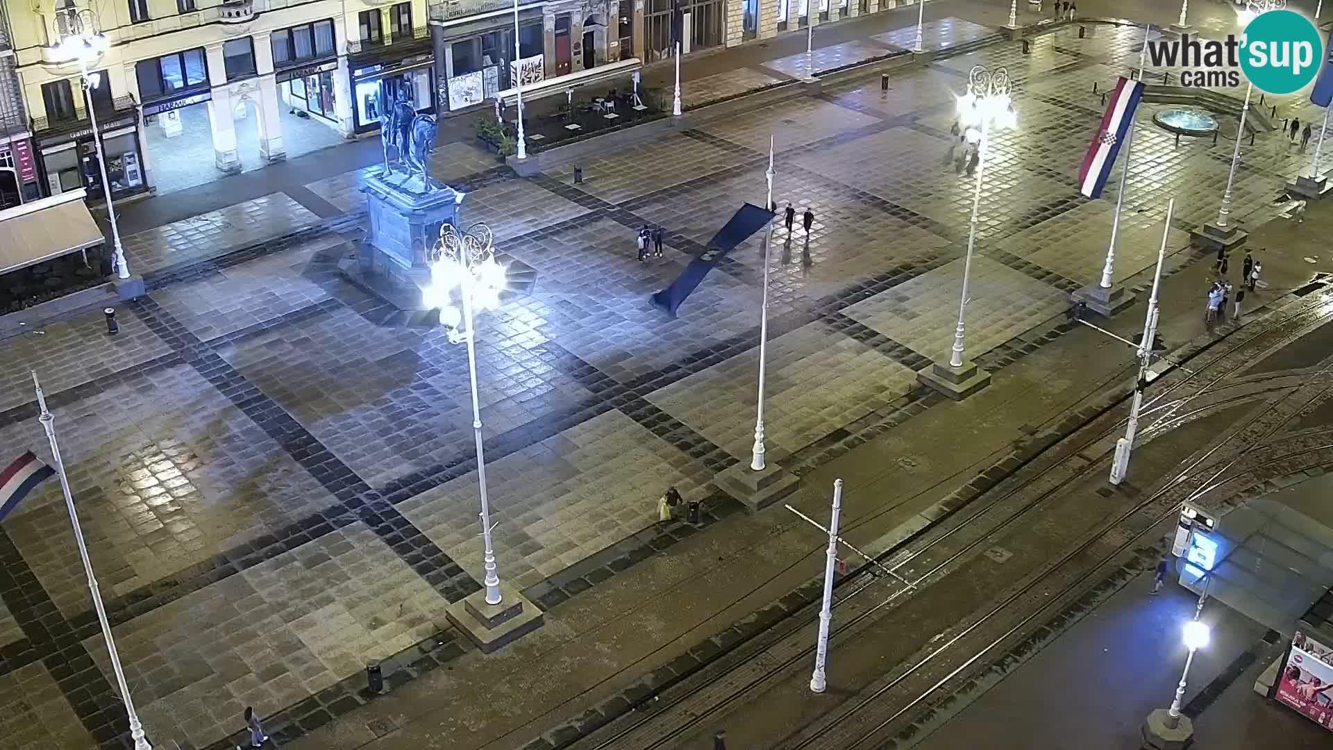 Piazza Ban Jelačić livecam Zagreb – Hotel Dubrovnik