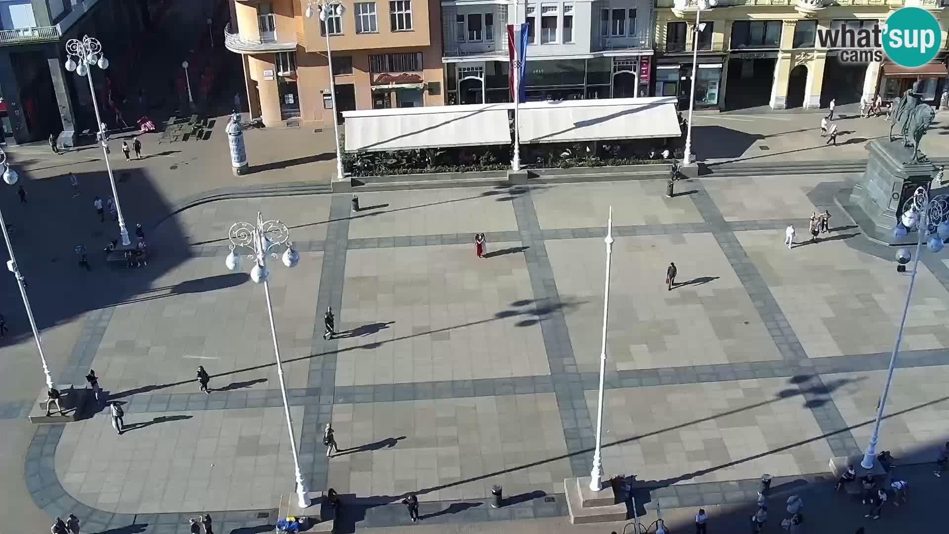 Webcam Zagreb – Carré Ban Jelačić