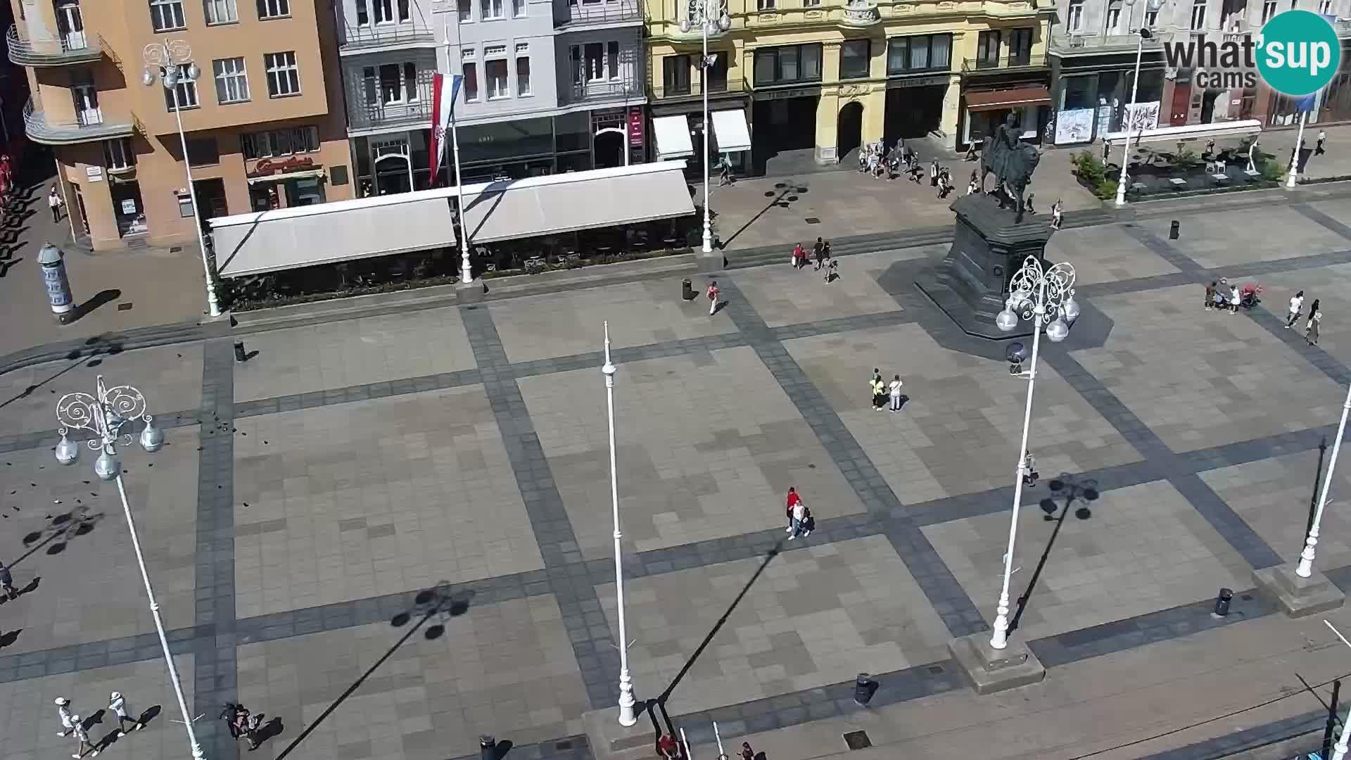 Webcam live Zagreb – Ban Jelačić Platz