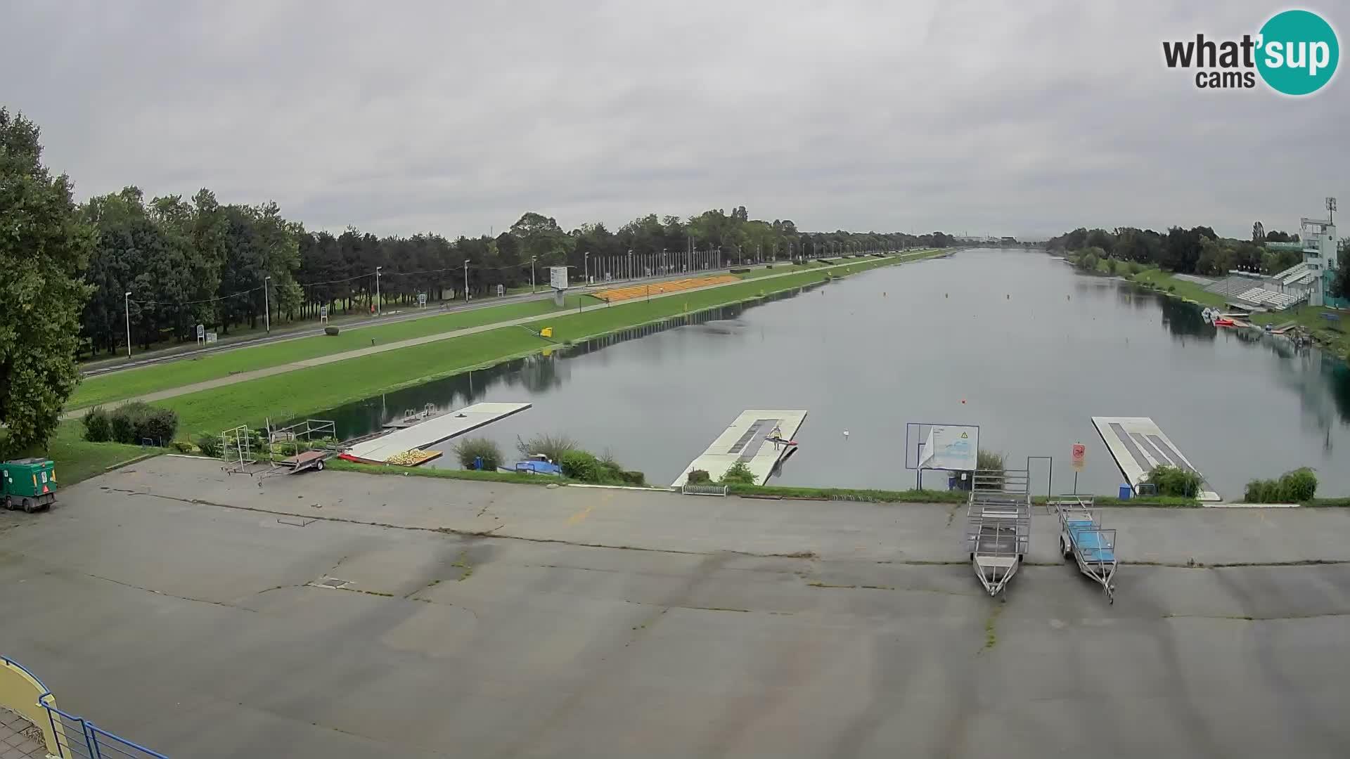 Zagreb – Lake Jarun webcam live