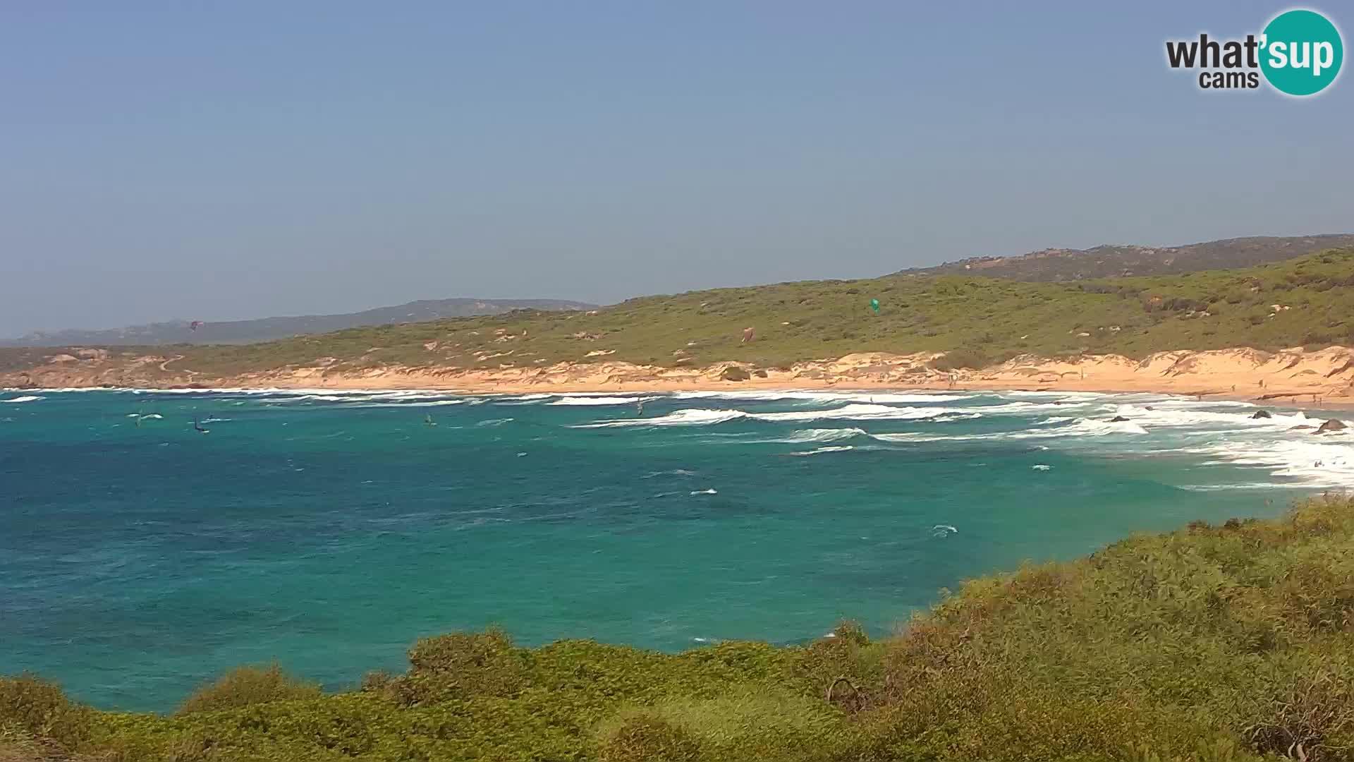 Spiaggia Naracu Nieddu Live webcam – Aglientu – Sardegna