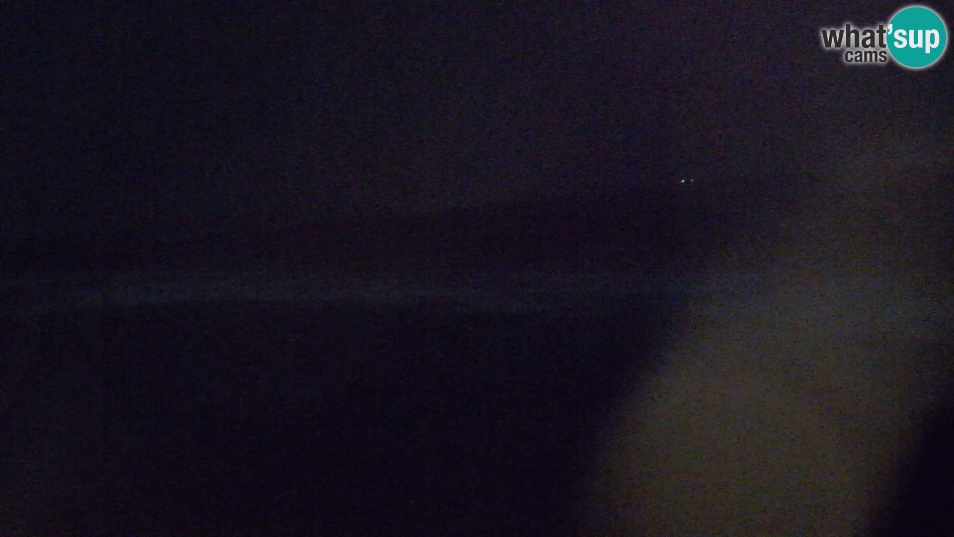 Plaža Naracu Nieddu web kamera – Aglientu – Sardinija