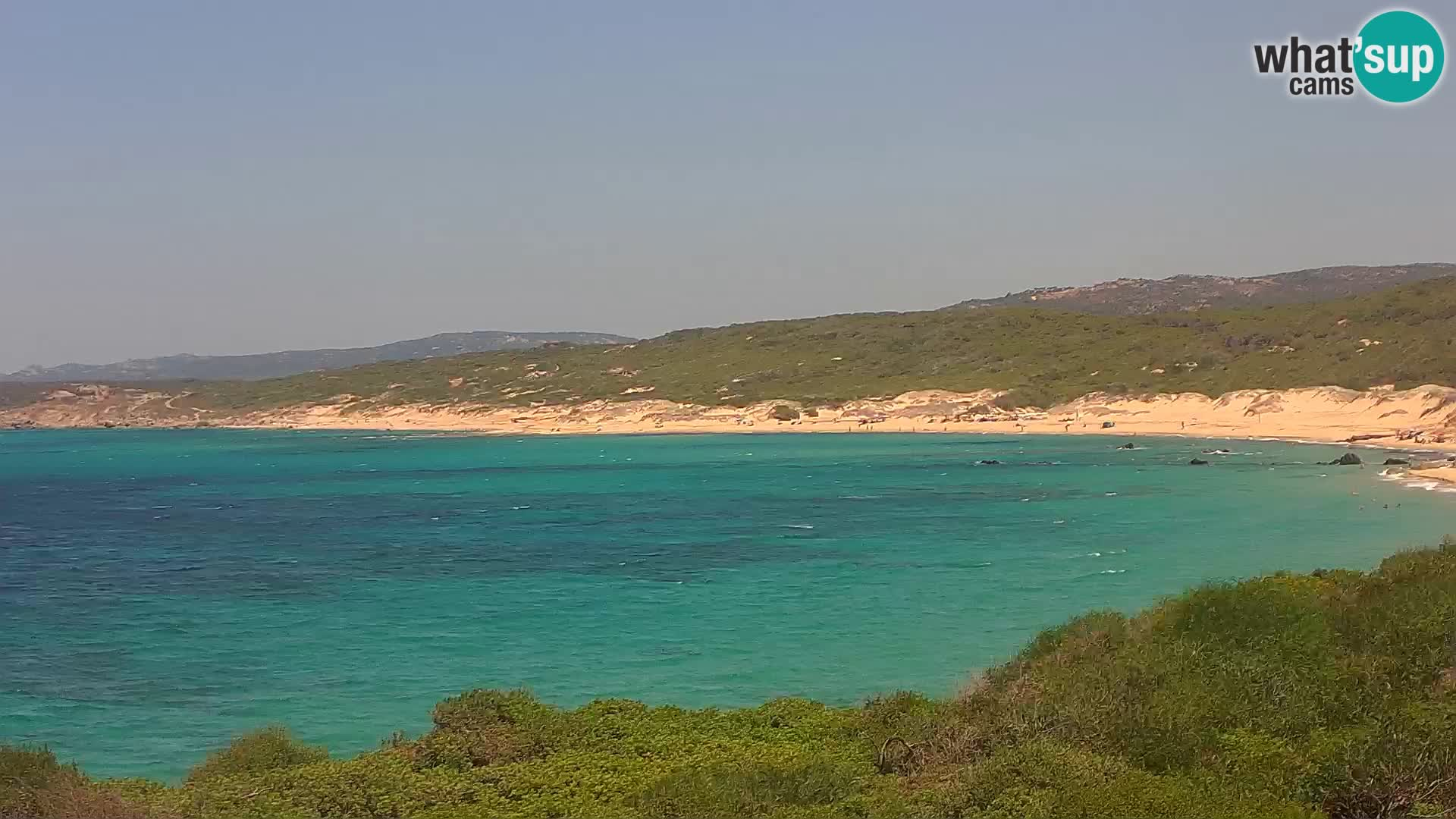 Webcam en direct de Naracu Nieddu Beach – Aglientu – Sardaigne