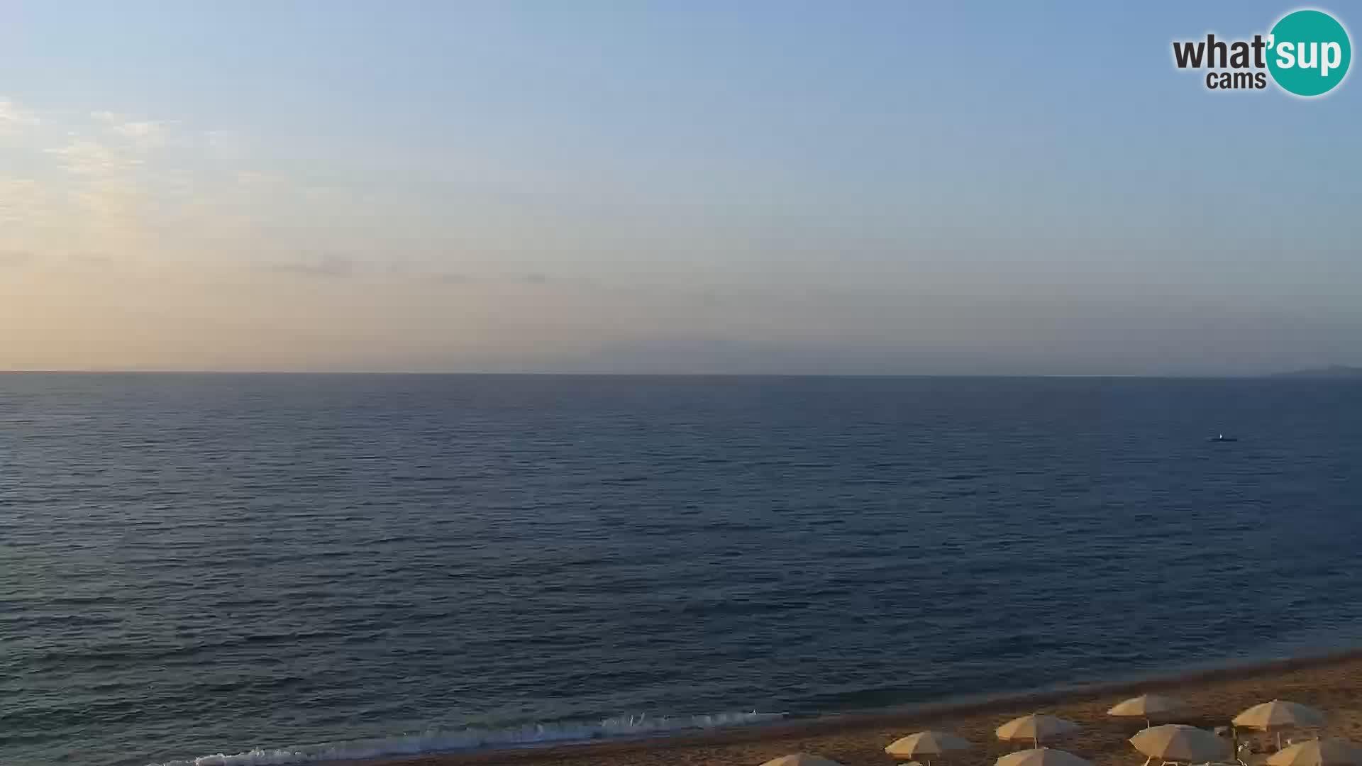 Vignola Mare web kamera Aglientu – Sardinija