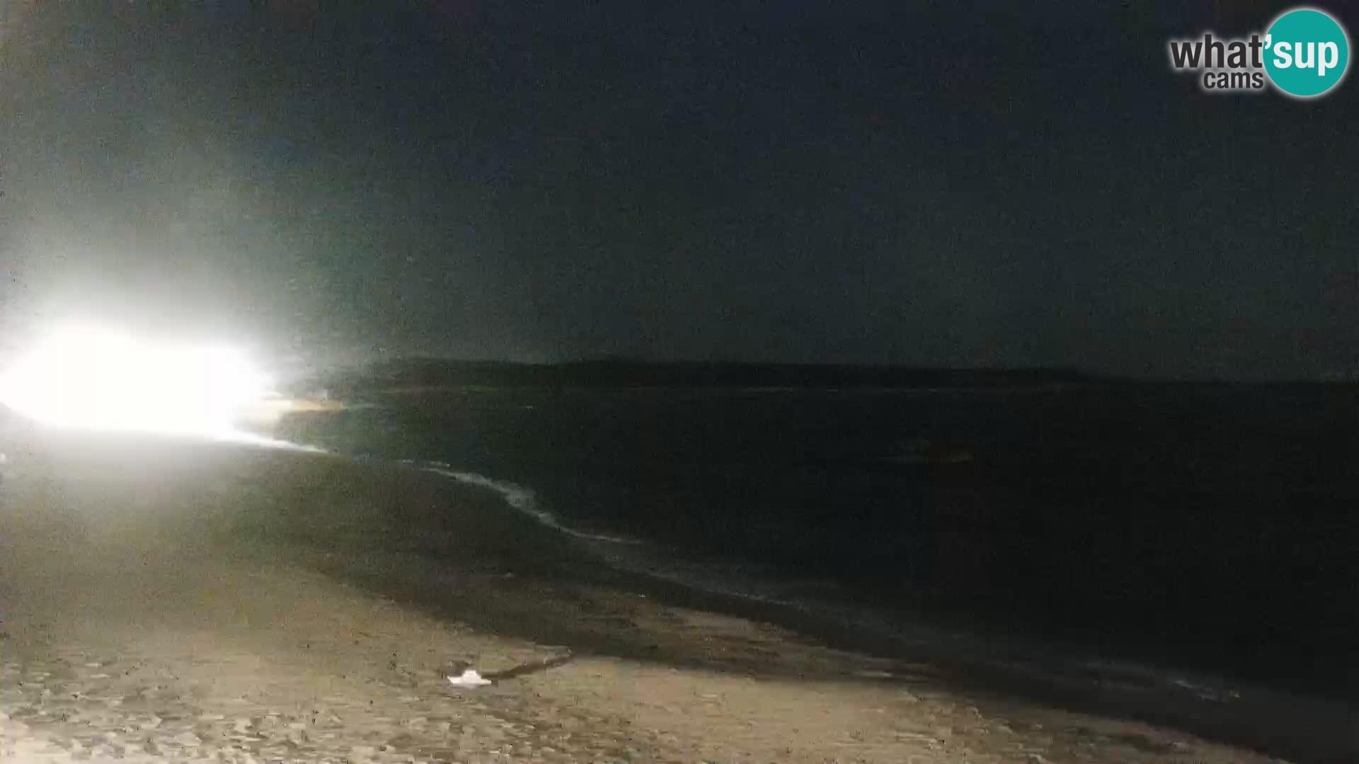 Plaža Vignola Mare spletna kamera Aglientu – Sardinija v živo