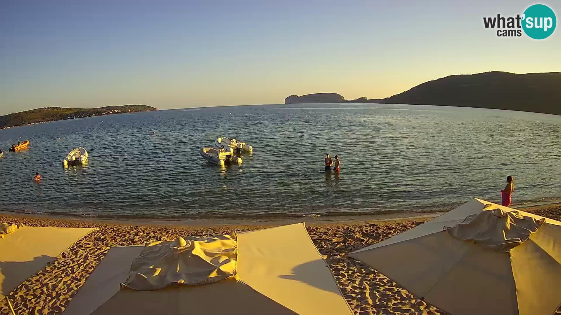 Webcam en direct Plage de Mugoni – Alghero – Sardaigne – Italie
