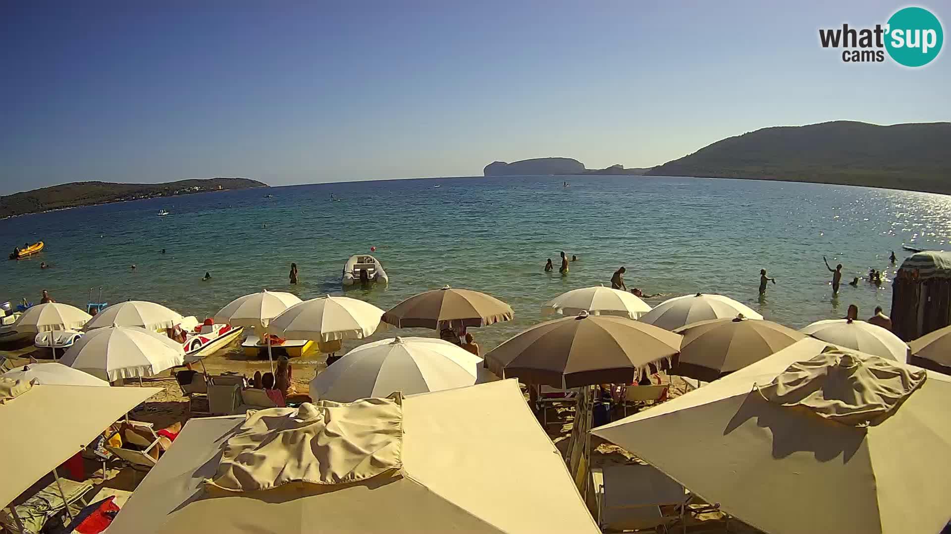 Live Webcam spiaggia Mugoni – Alghero – Sardegna