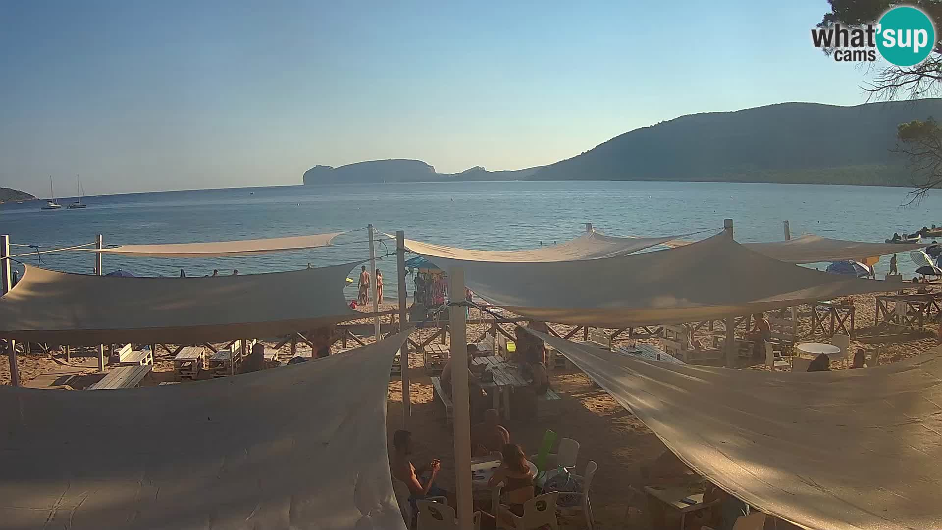 Web kamera uživo Plaža Mugoni – Alghero – Sardinija – Italija