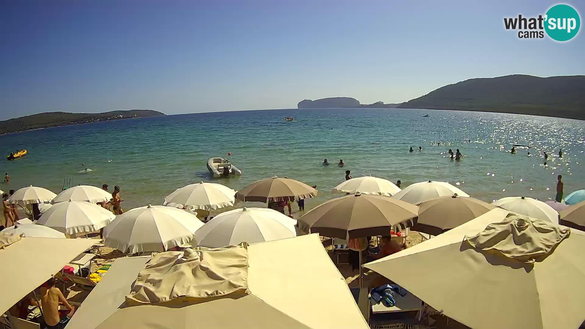 Live Webcam Mugoni Strand – Alghero – Sardinien – Italien